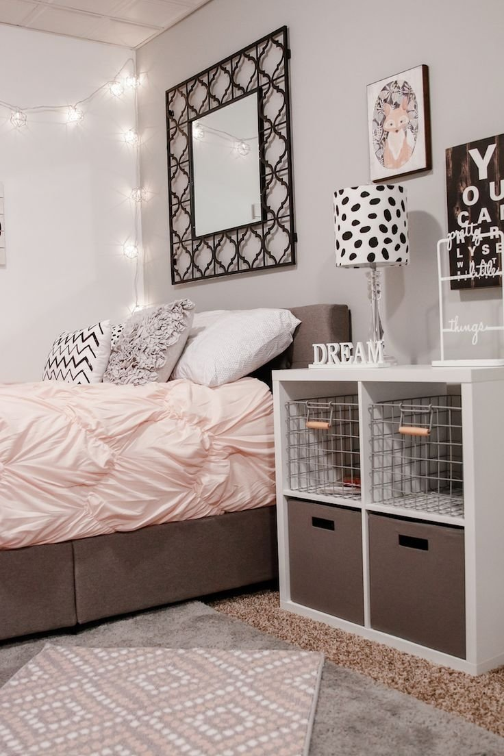 10 Pretty Teenage Bedroom Ideas For Small Rooms teen girl bedroom ideas and decor bedroom pinterest teen 2020