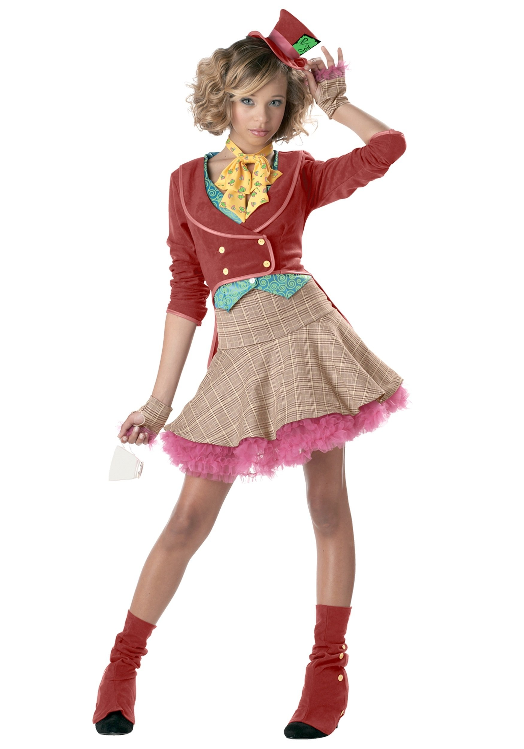 10 Stylish Costume Ideas For Tween Girls teen girls mad hatter costume 6 2020