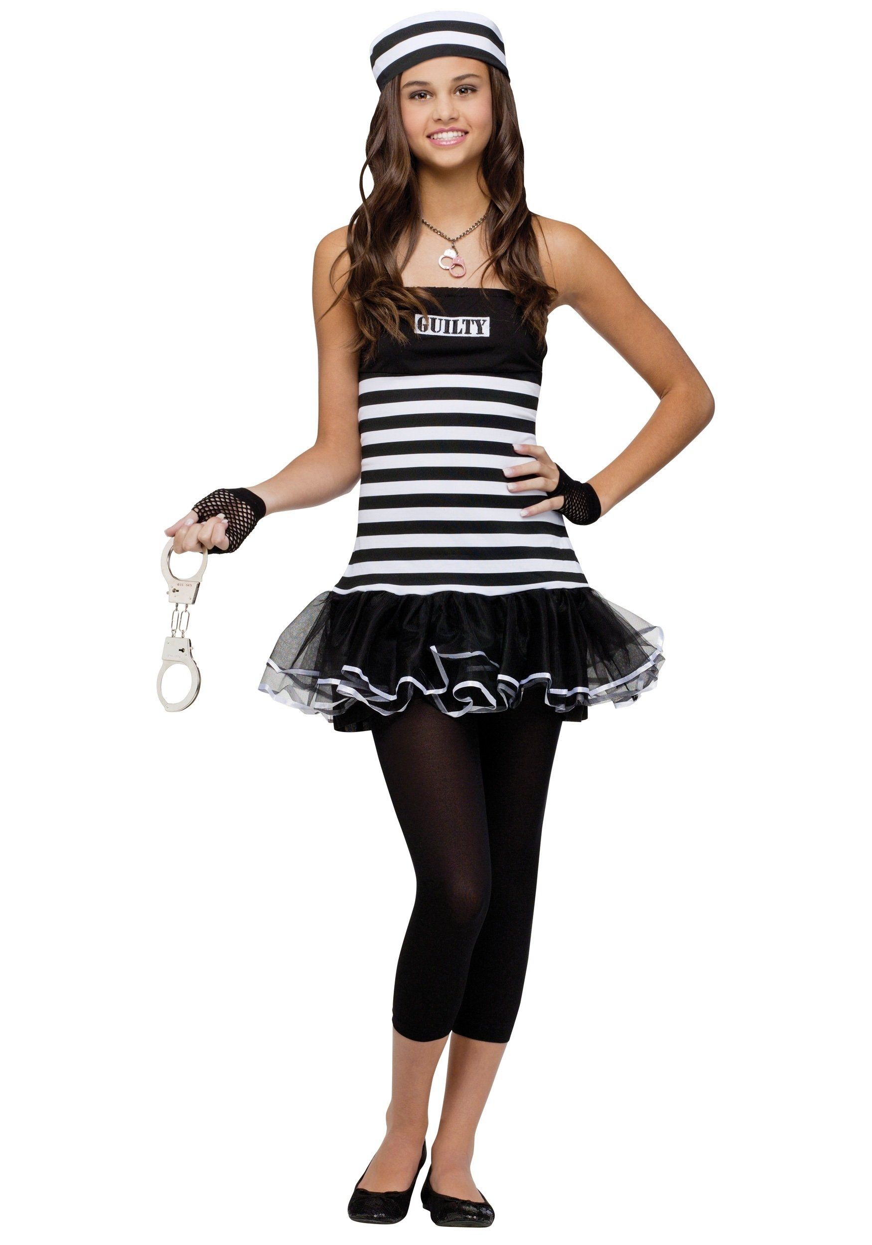 10 Perfect Cute Teen Halloween Costume Ideas teen guilty prisoner costume 2021