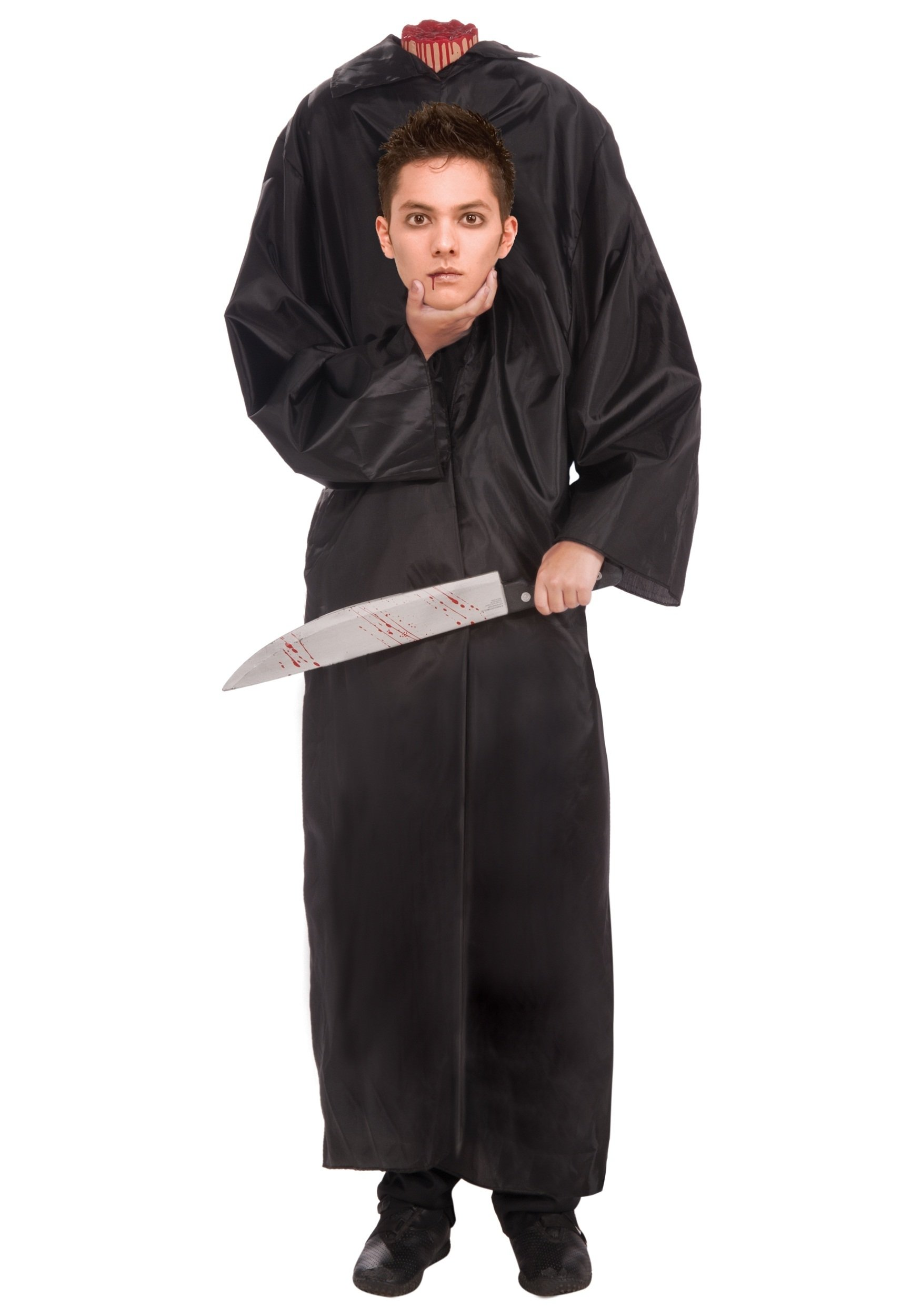 teen headless boy costume