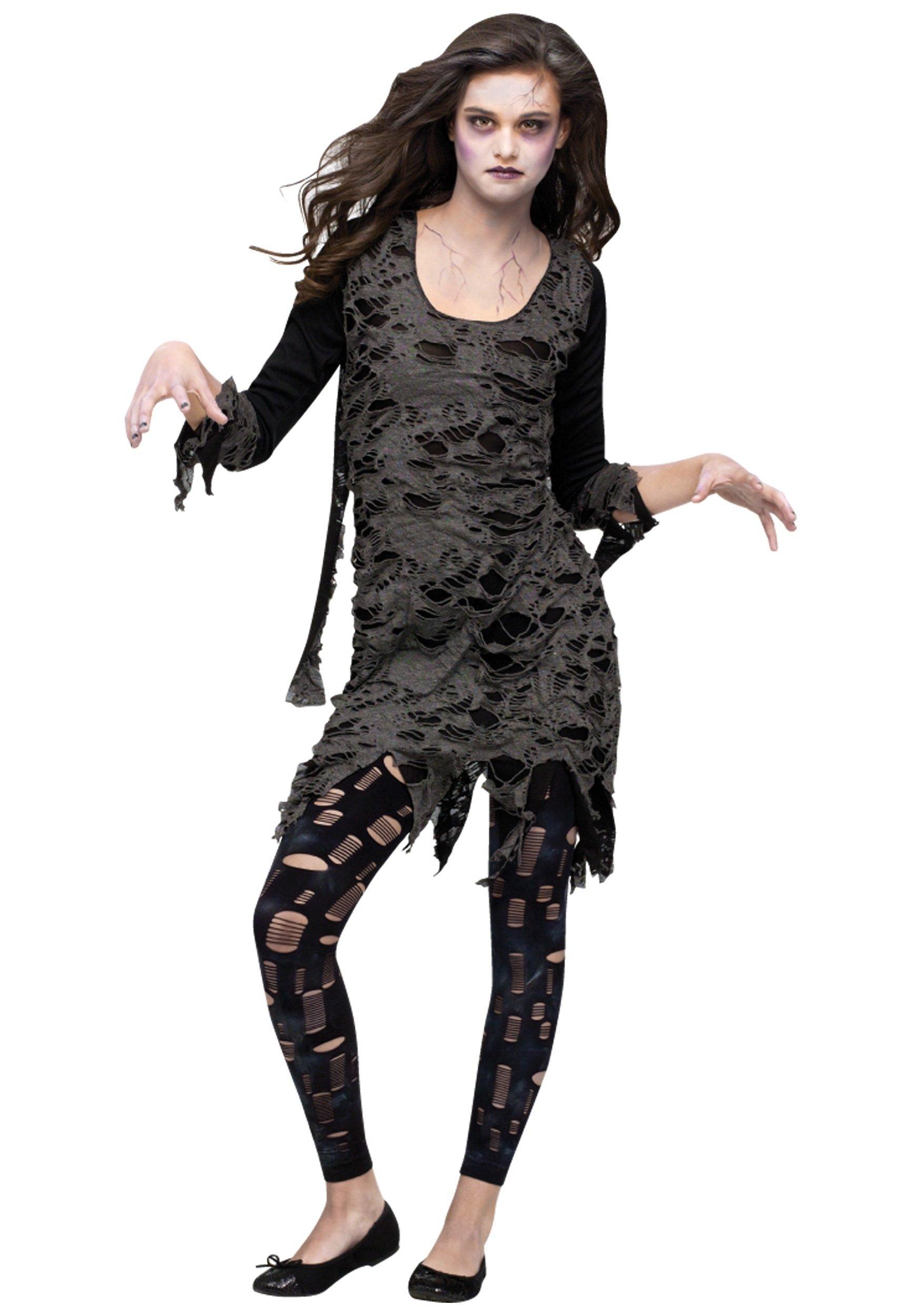 10 Fashionable Halloween Costumes Ideas For Teenage Girls teen living dead costume 2 2020