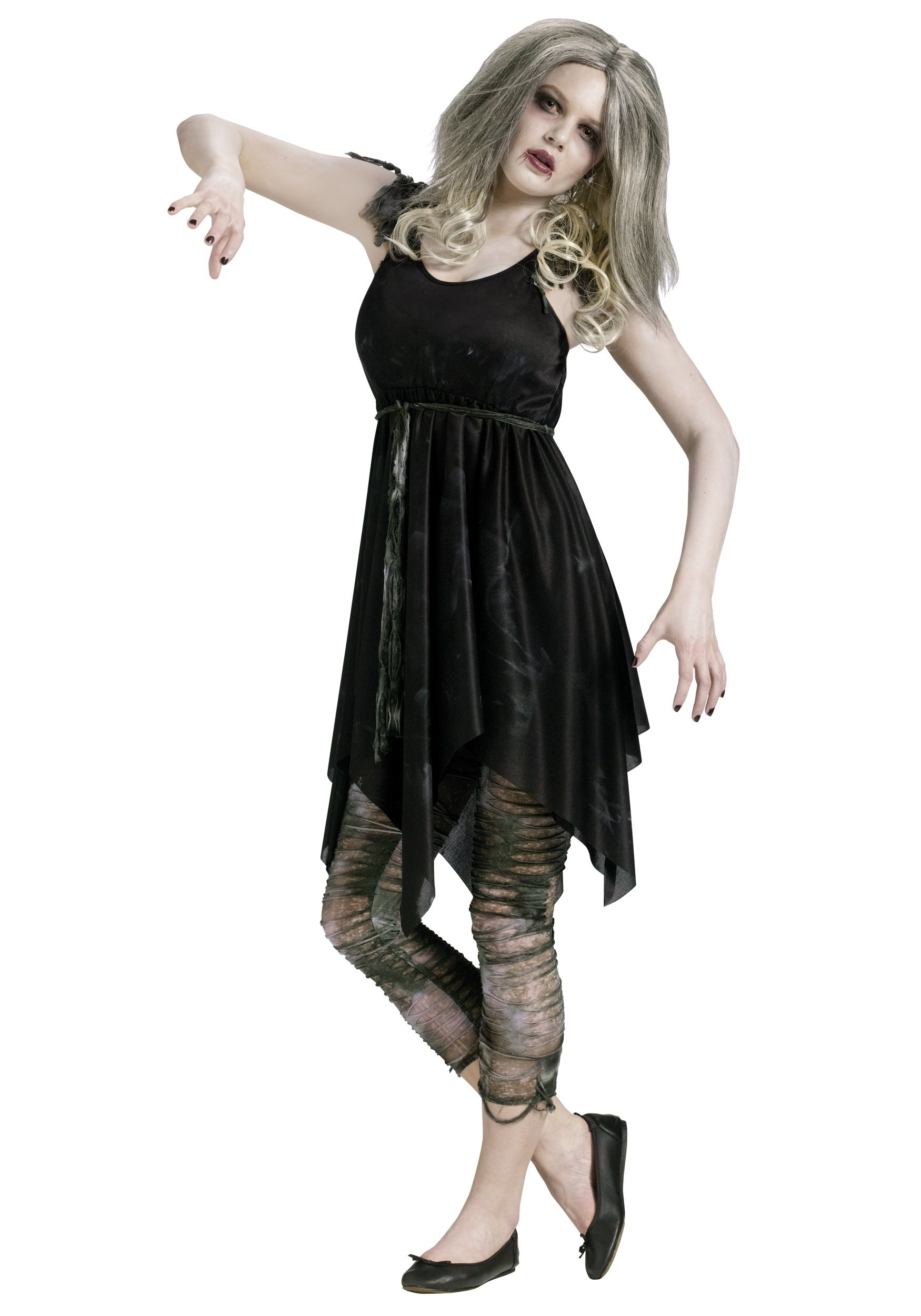 10 Amazing Zombie Costume Ideas For Girls teen night zombie costume halloween costumes 1