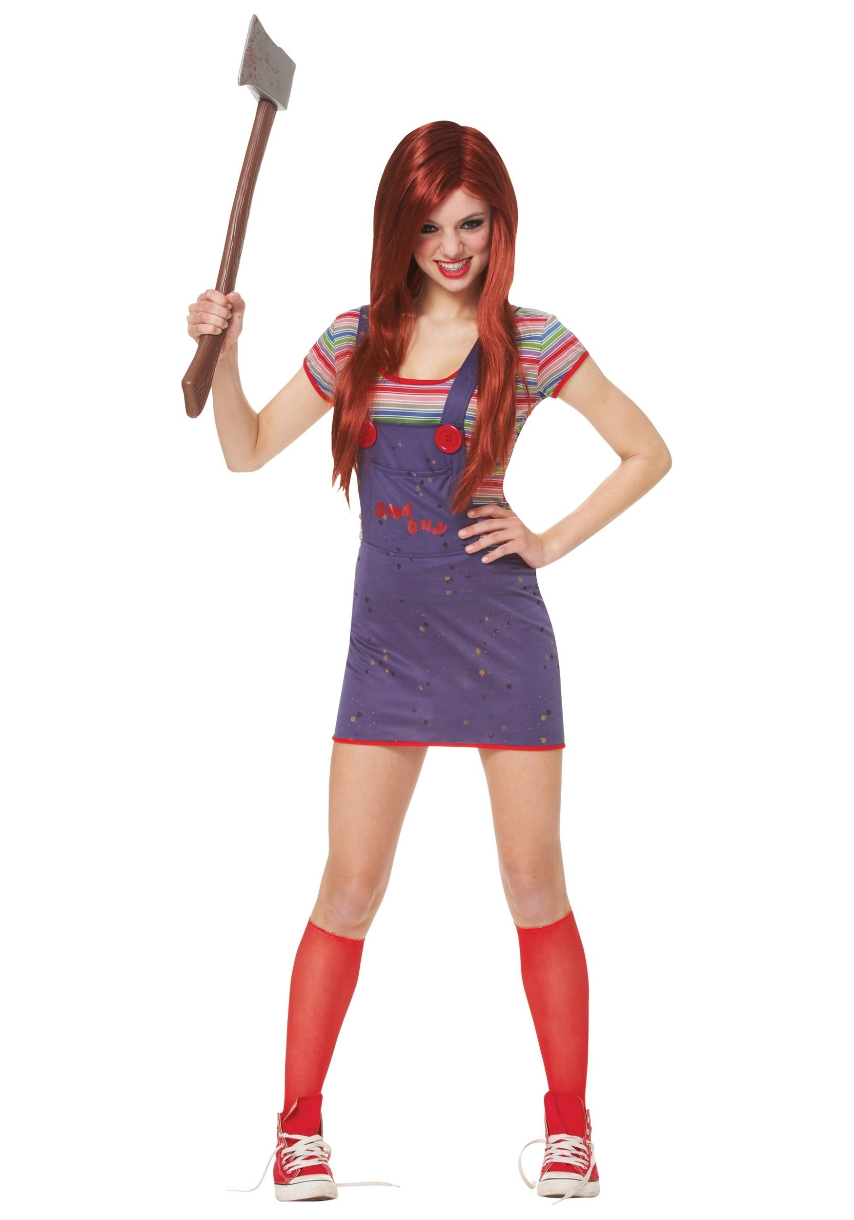 10 Nice Ideas For Halloween Costumes For Girls teen sassy chucky costume 2020