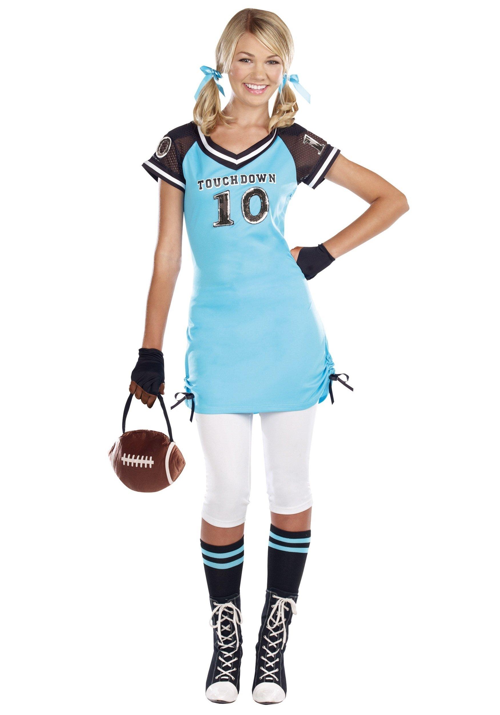 10 Famous Halloween Costume Ideas Teenage Girl teen touchdown cutie costume halloween costumes 2020