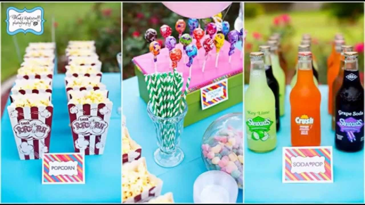 teenage birthday party themes decorations at home ideas - youtube