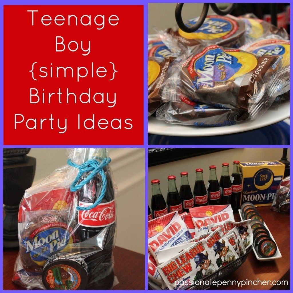 10 Perfect Birthday Ideas For Teenage Guys Boy Party