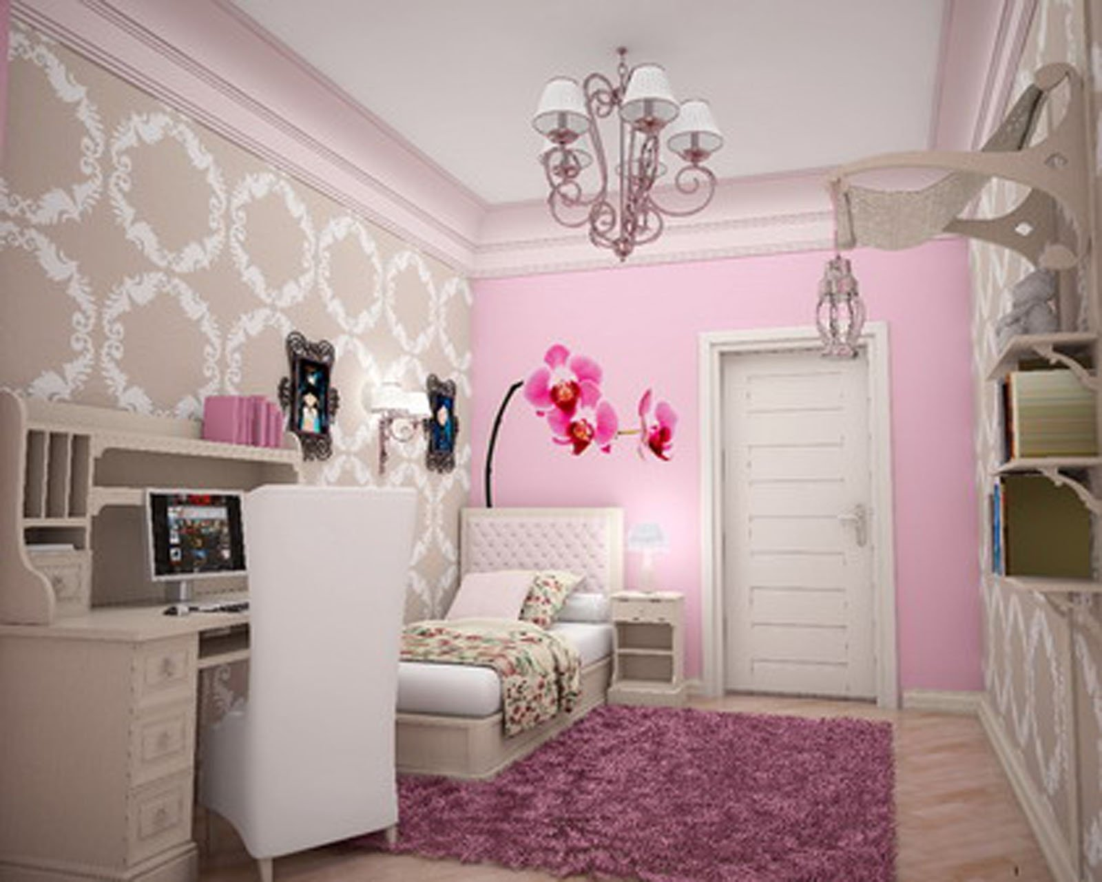 10 Stylish Small Bedroom Ideas For Girls teenage girl bedroom designs for small rooms bedroom simple teenage 3 2020