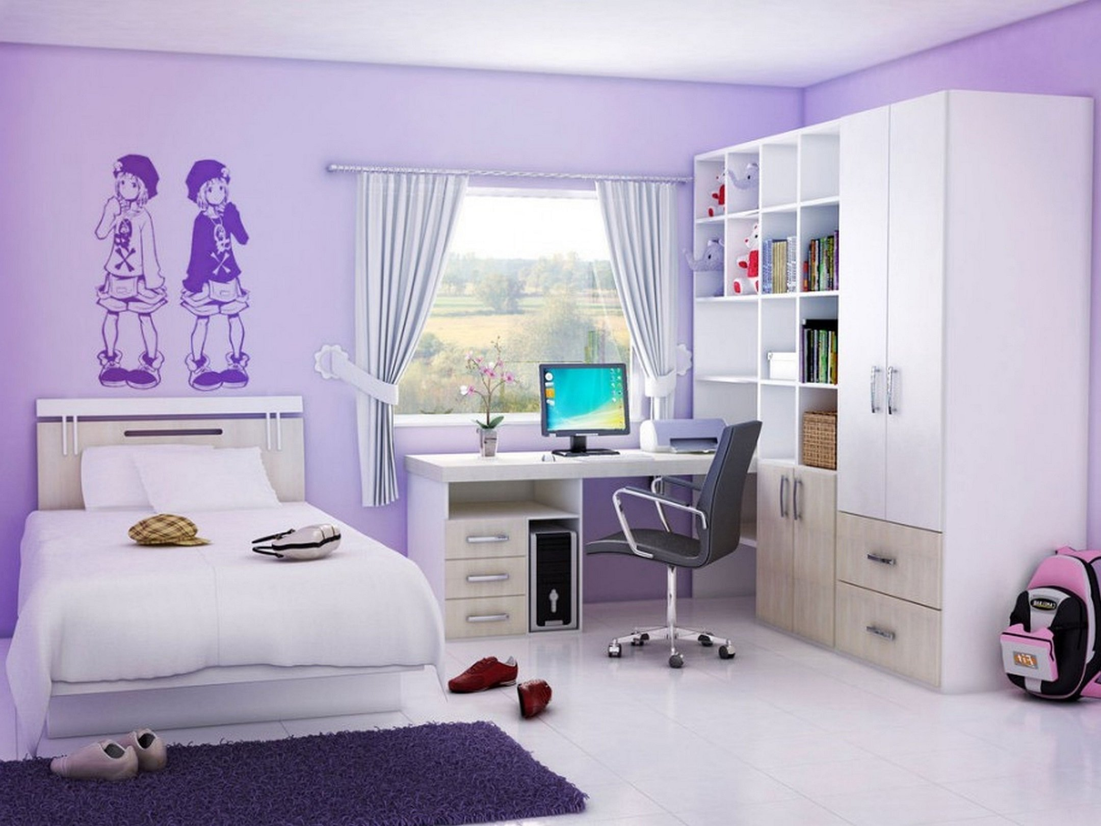 10 Pretty Teenage Bedroom Ideas For Small Rooms teenage girl bedroom ideas for small rooms 2020