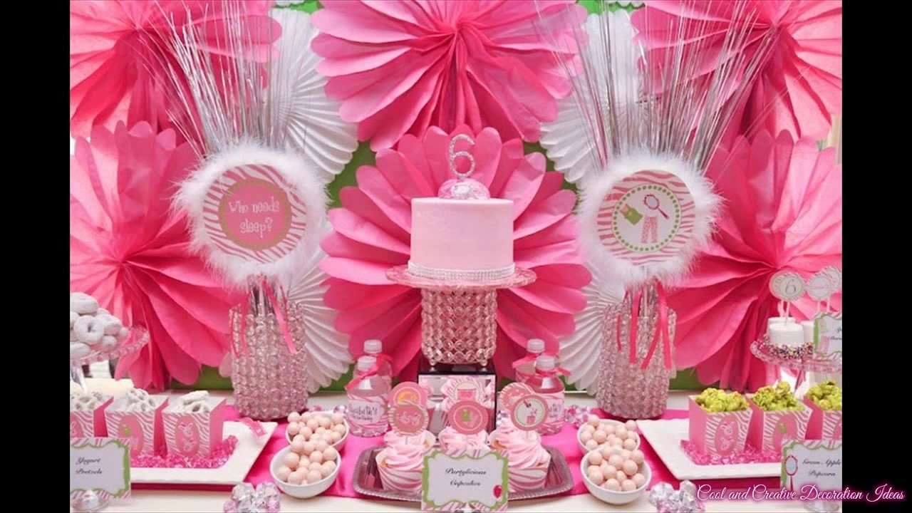 10 Nice Birthday Party Ideas For Teenage Girls teenage girl birthday party ideas youtube 2020