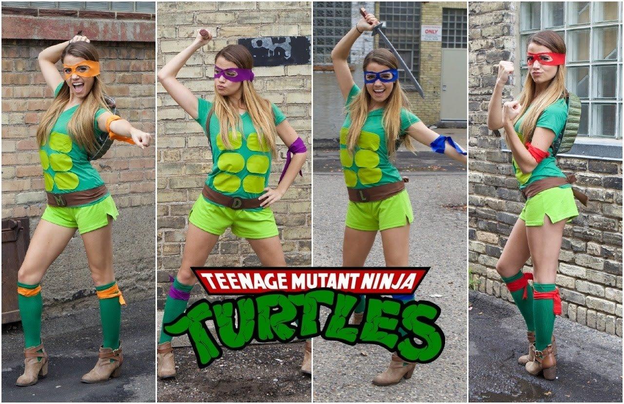 10 Unique Teenage Mutant Ninja Turtles Costume Ideas teenage mutant ninja turtle diy halloween costume youtube 2021