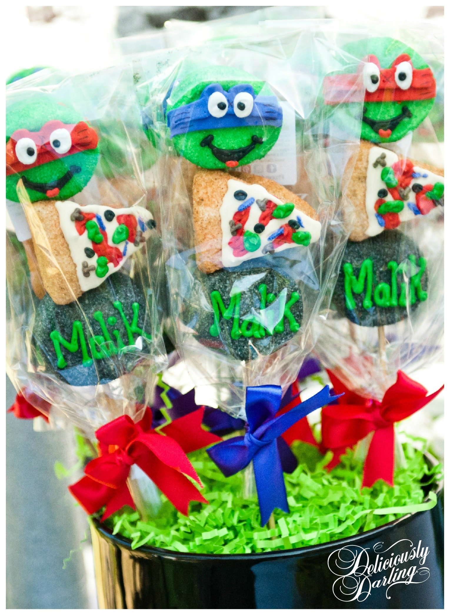 10 Awesome Teenage Mutant Ninja Turtles Party Favor Ideas teenage mutant ninja turtle inspired birthday party deliciously 4