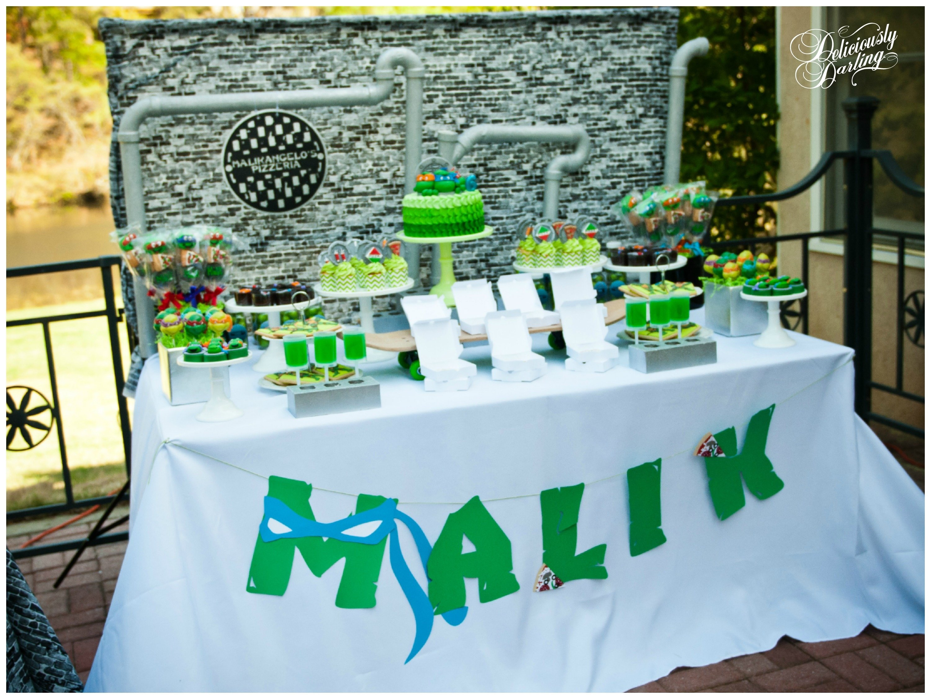 10 Best Ninja Turtle Party Decoration Ideas teenage mutant ninja turtle inspired birthday party deliciously 7 2020