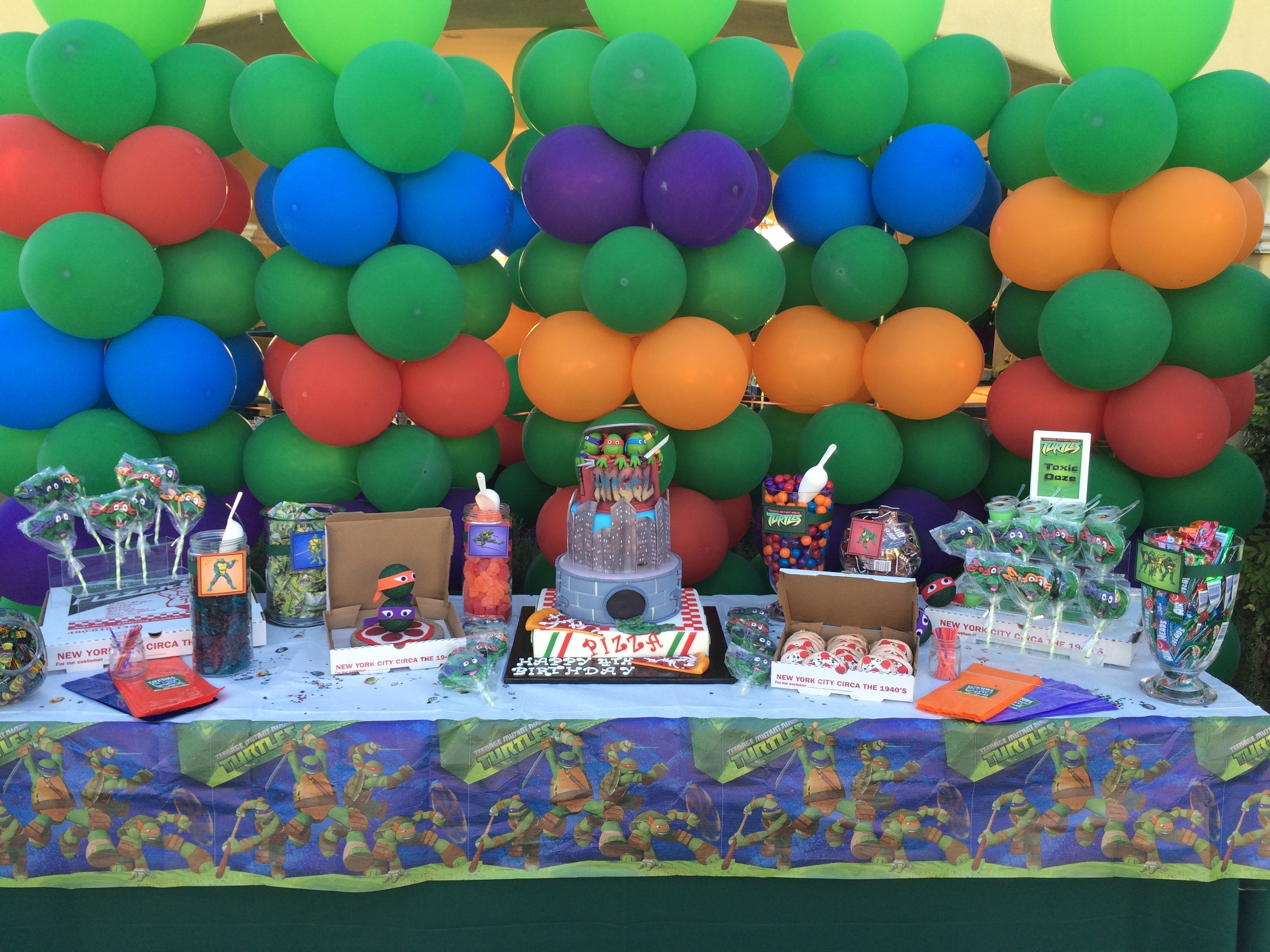 10 Pretty Ninja Turtles Theme Party Ideas teenage mutant ninja turtles birthday party ideas resourceful 2