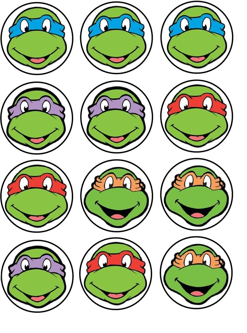 10 Attractive Teenage Mutant Ninja Turtles Cupcake Ideas %name
