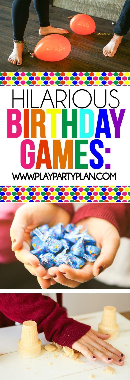 teenage birthday party games www
