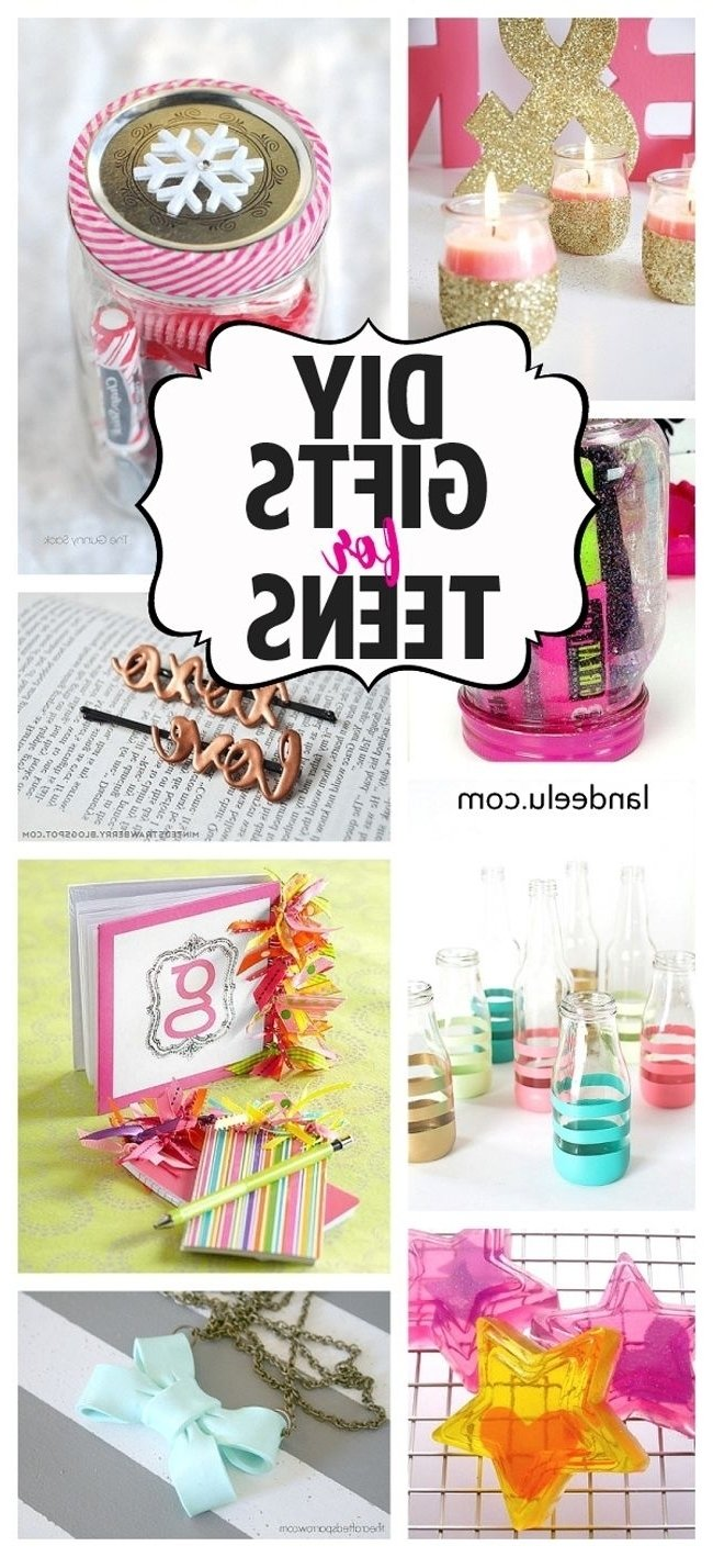 10 Spectacular Homemade Gift Ideas For Girls teens room diy gift ideas for teens diy gifts gift ideas and diy 1 2021