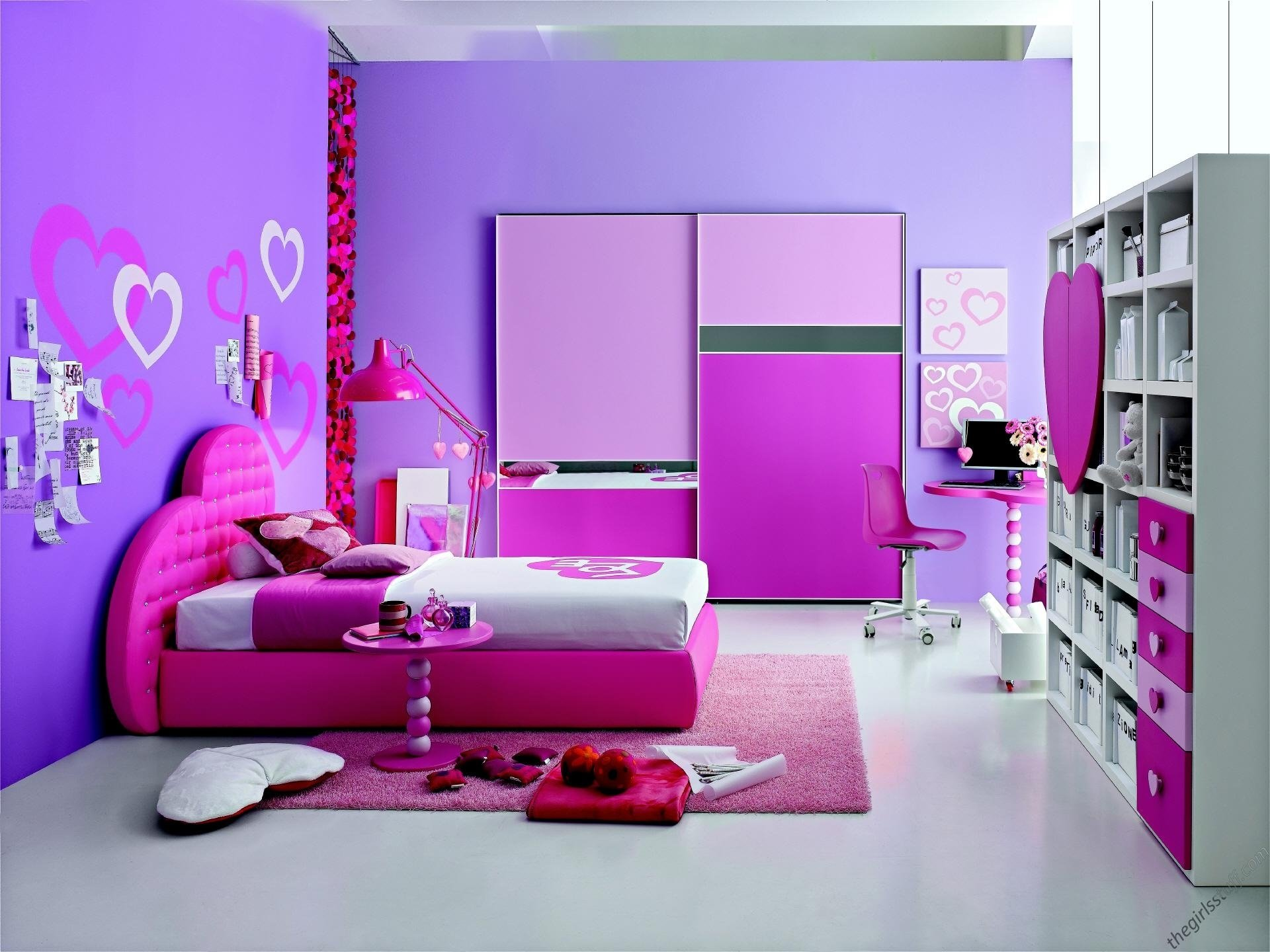 10 Lovely Pink And Purple Room Ideas teens room pink teenage girls room inspiration girl teenage room 2020