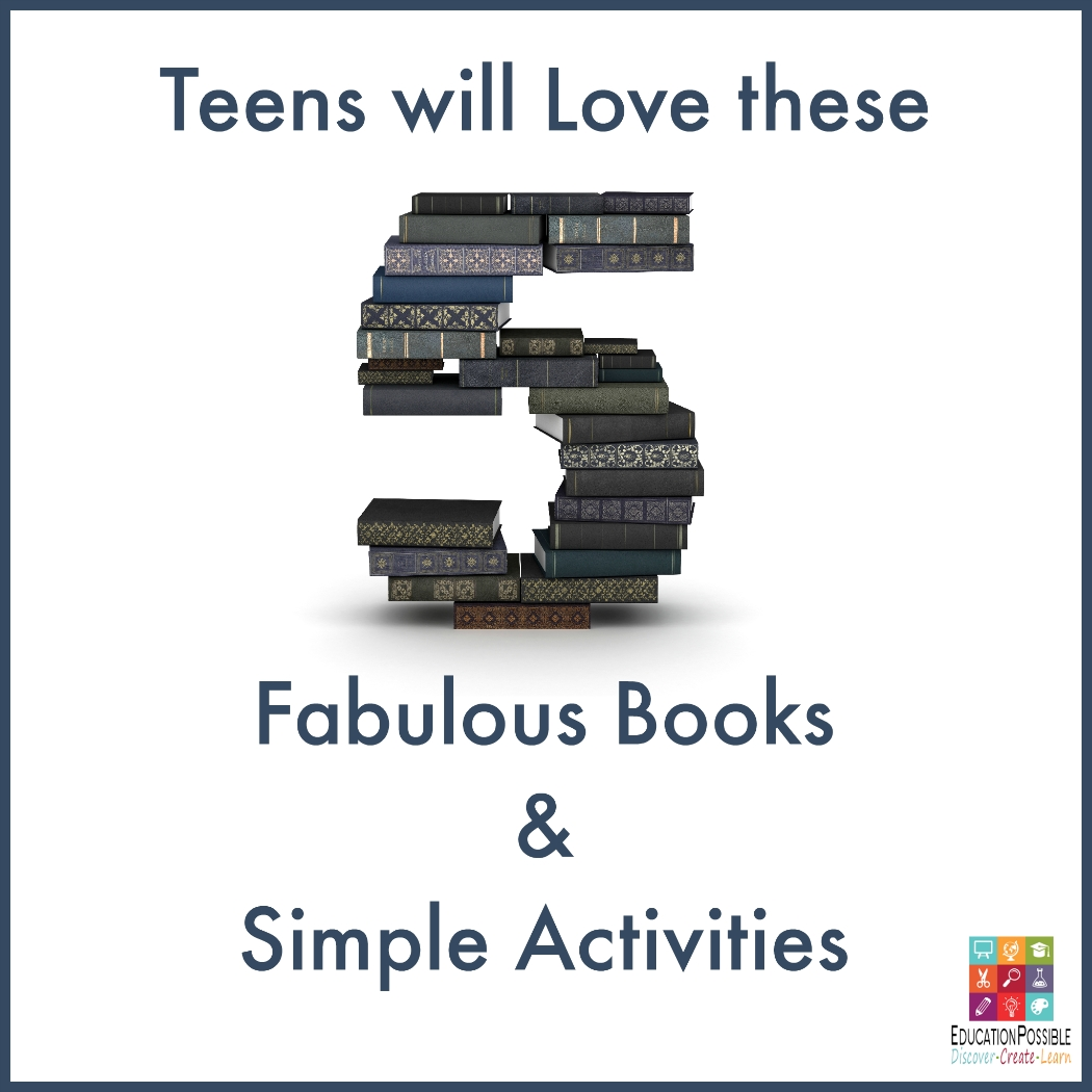 10 Spectacular Club Ideas For Middle School teens will love these 5 fabulous books simple activities book