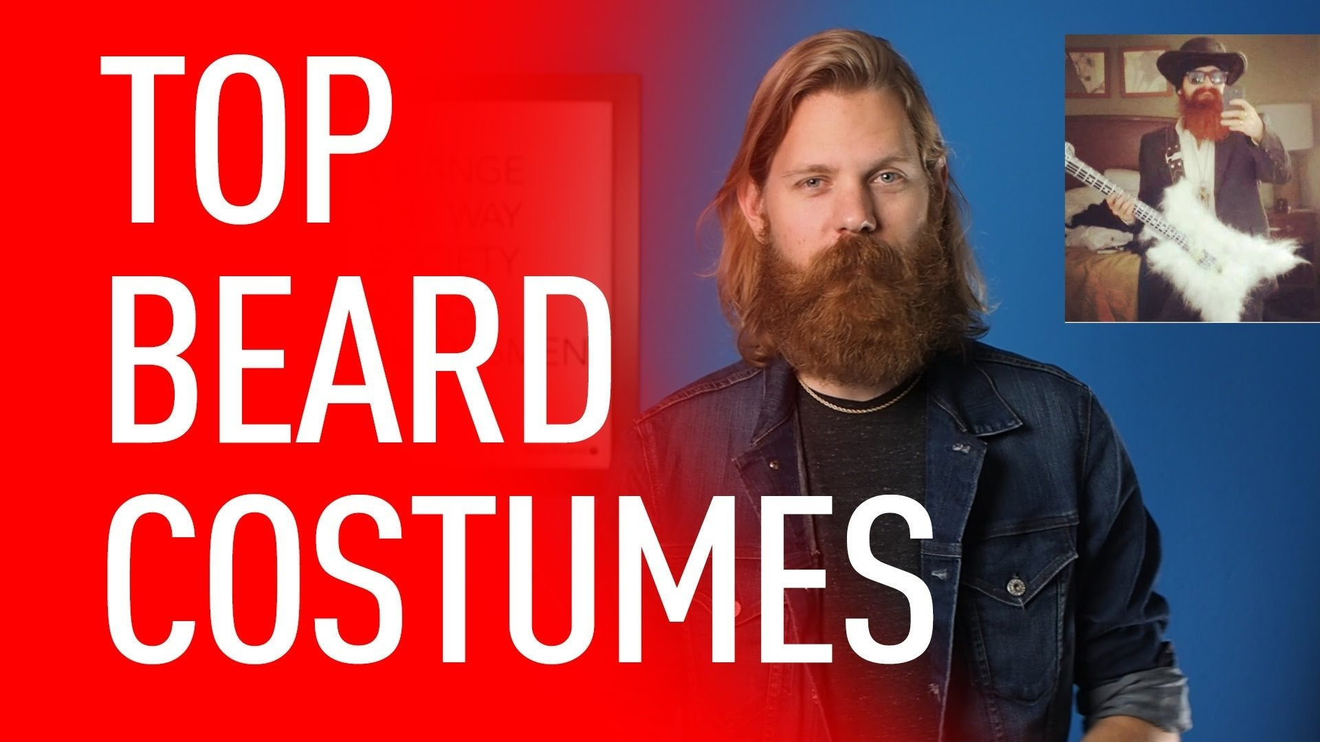 10 Unique Halloween Costume Ideas For Men With Beards ten best bearded halloween costumes eric bandholz youtube 1