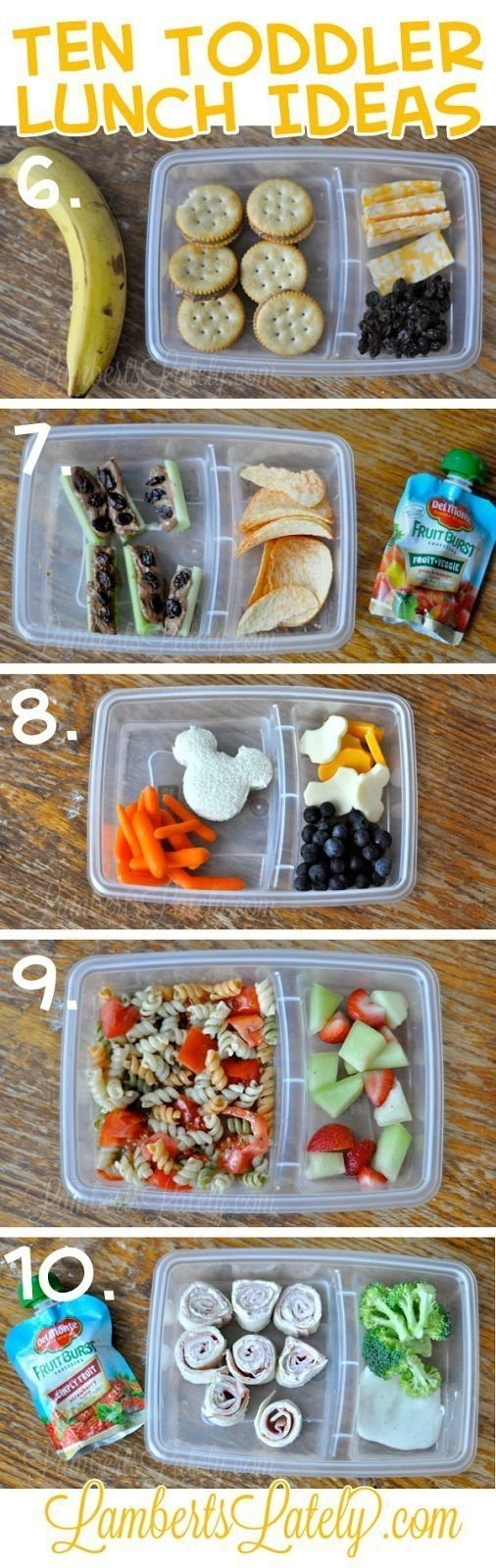 10 Cute Toddler Lunch Ideas For School ten quick and easy toddler lunch ideas collations et cuisiner 2020