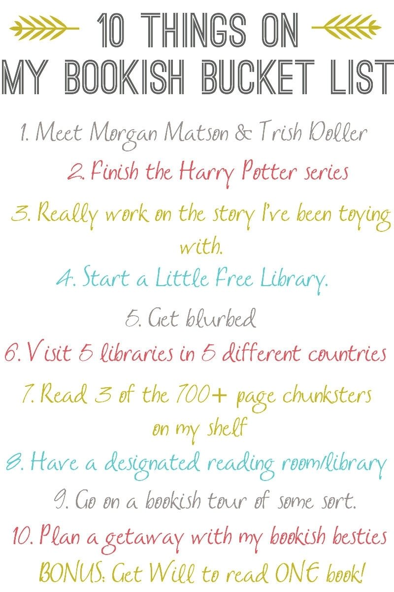 10 Unique Bucket List Ideas For Teenage Girls ten things on my bookish bucket list the perpetual page turner 1 2020