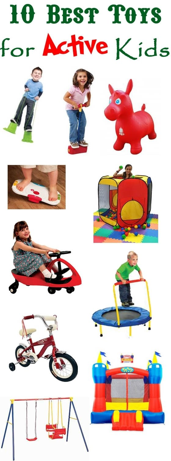 10 Great Birthday Gift Ideas For 2 Year Old Boy ten toys for the active boy or child with adhd spd or hyperactivity 2021