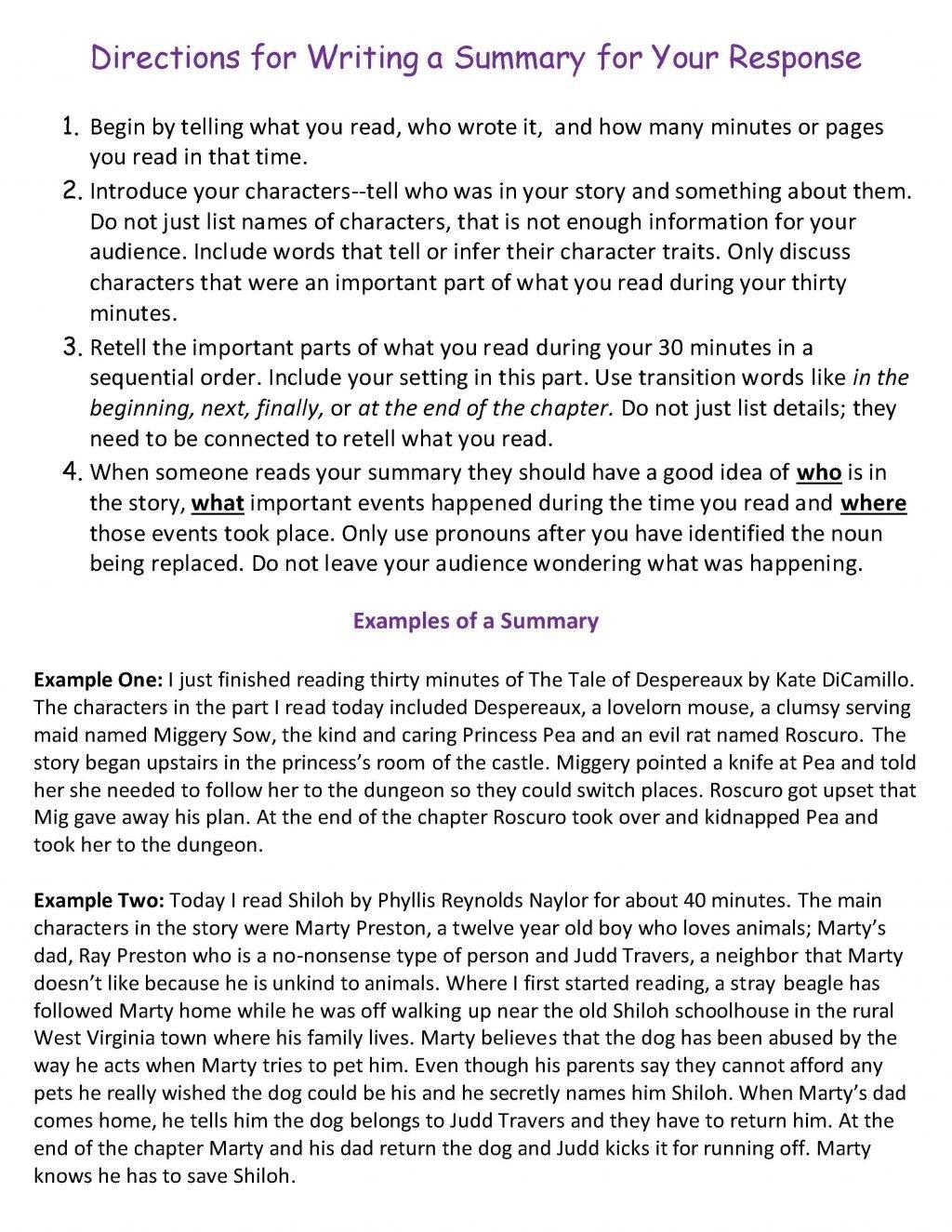 10 Lovable Main Idea Multiple Choice Worksheets ten weeks of reading response homework scholastic direc main idea