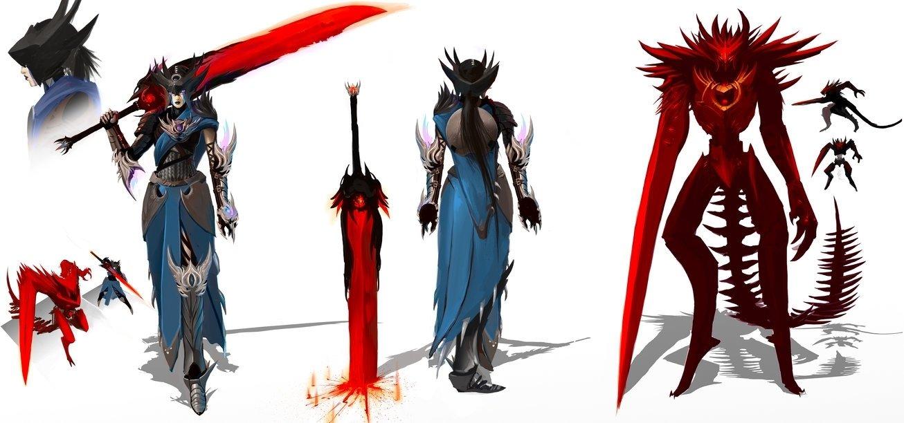 10 Best League Of Legends Champion Ideas tera the king slayer champion idea for lolryonok on deviantart 2021