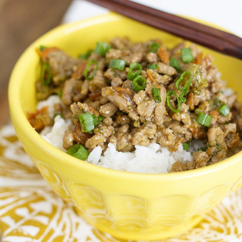 10 Attractive Recipe Ideas For Ground Turkey teriyaki turkey rice bowl easy ground turkey recipe 2020