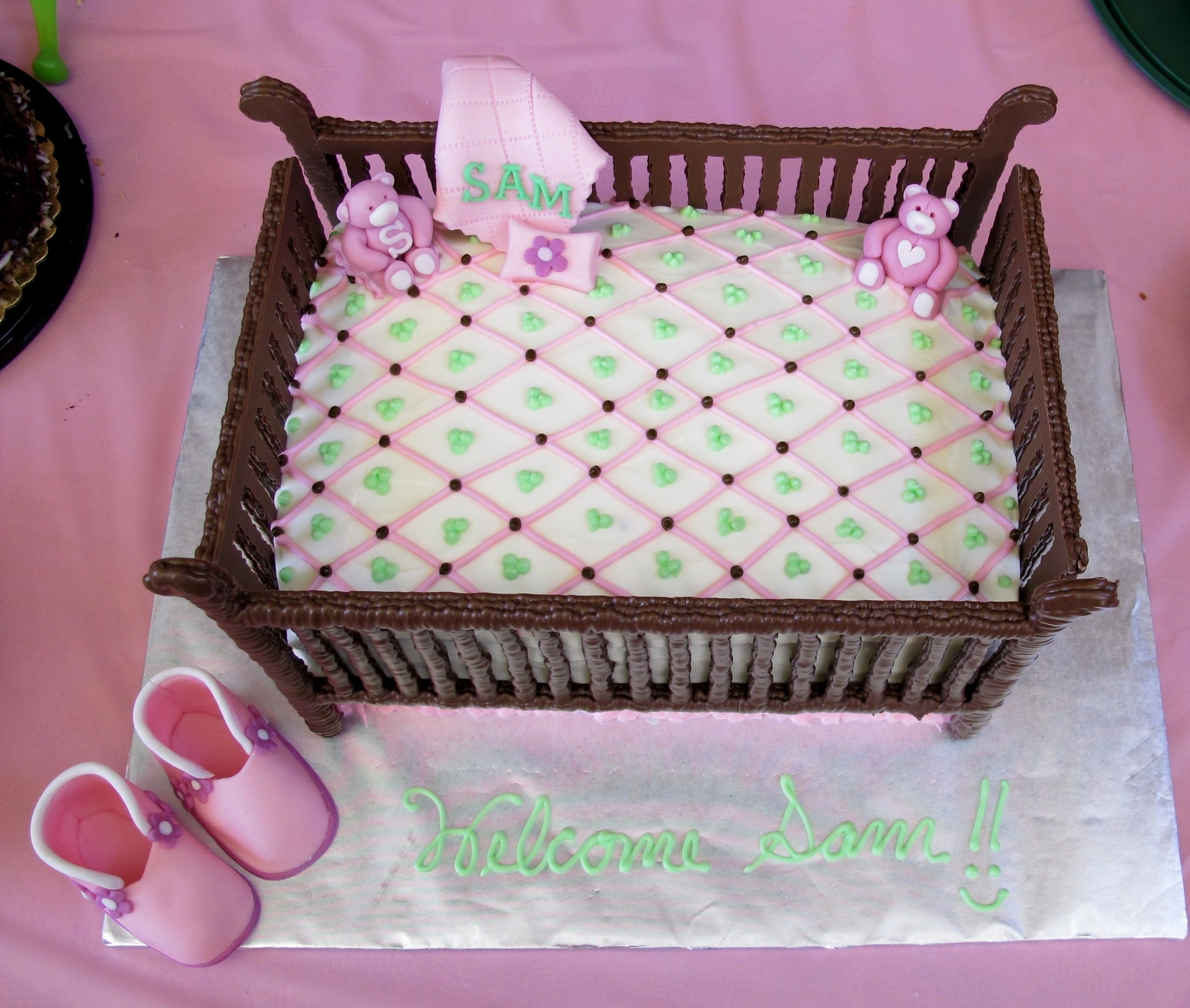 10 Stunning Baby Shower Cake Ideas For A Girl terrific baby shower sheet cakes cake ideas for a girl decorating of 2021