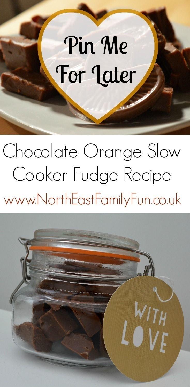 10 Famous Homemade Edible Christmas Gift Ideas terrys chocolate orange slow cooker fudge recipe a homemade 2021