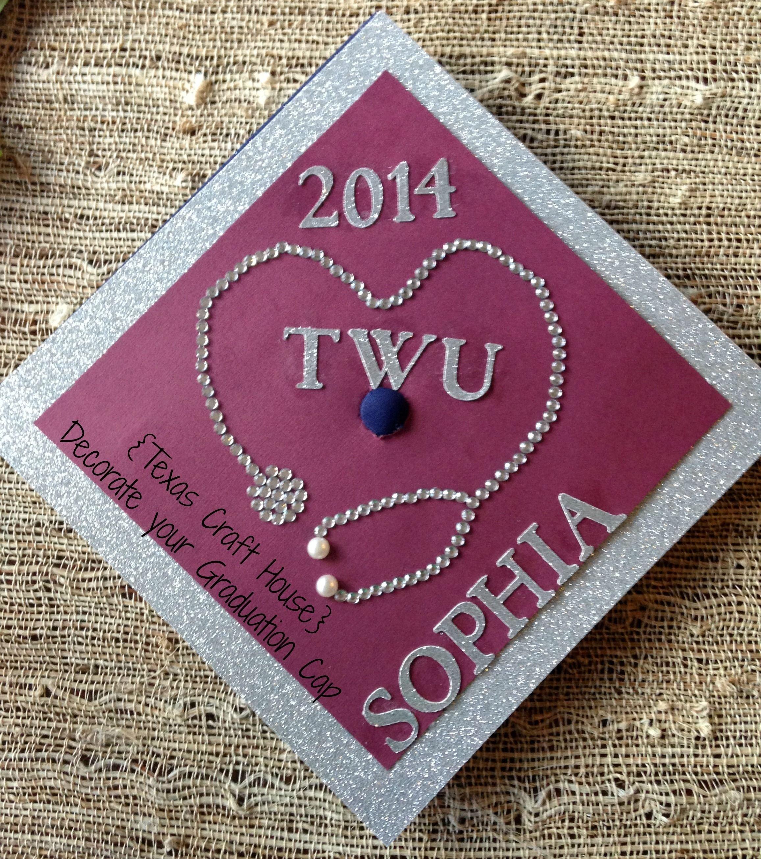 10 Lovely High School Graduation Cap Decoration Ideas texas craft house decorate your graduation cap craft ideas 2020