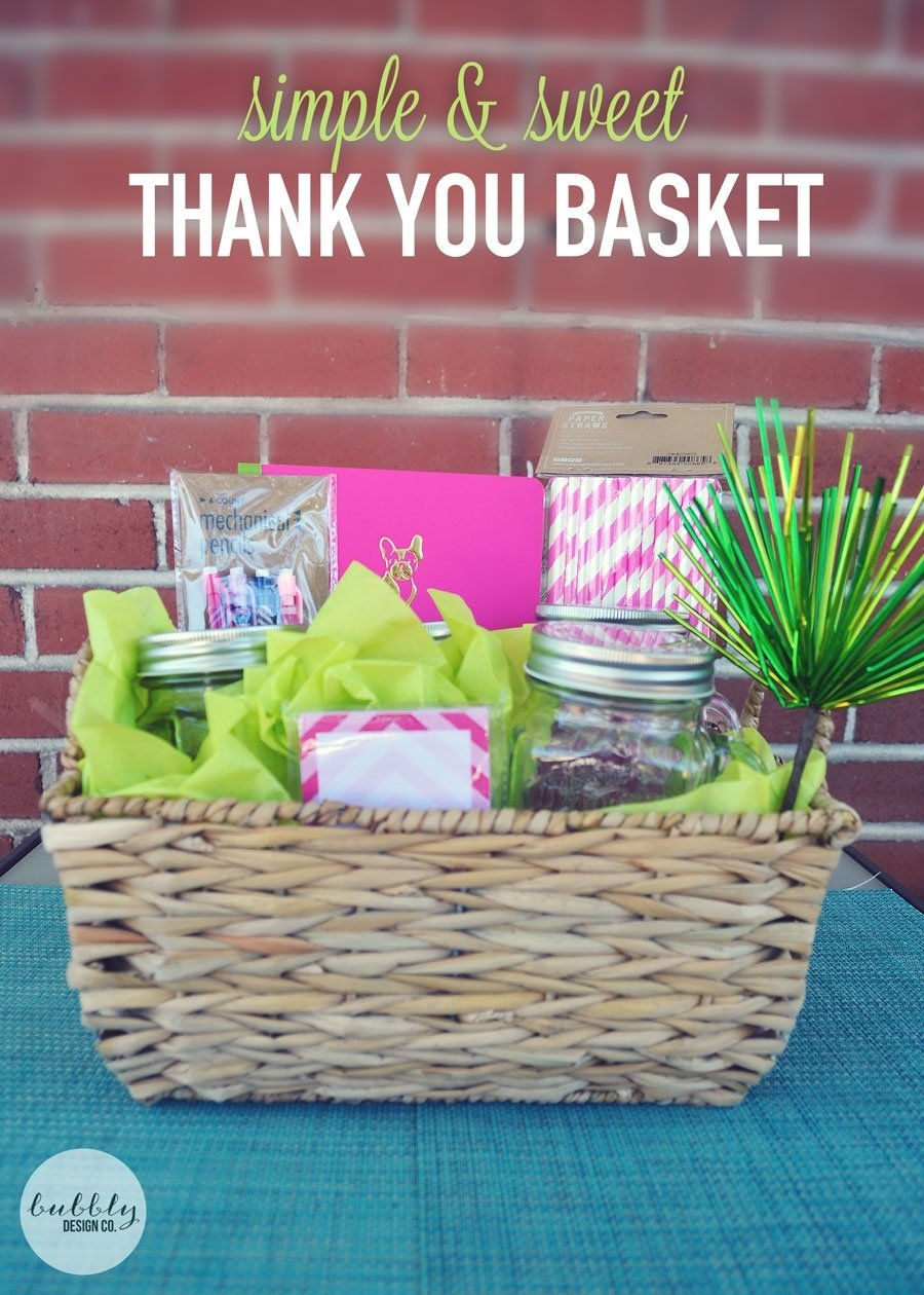 10 Awesome Diy Thank You Gift Ideas thank you ideas for parent volunteers gifts volunteer appreciation 1