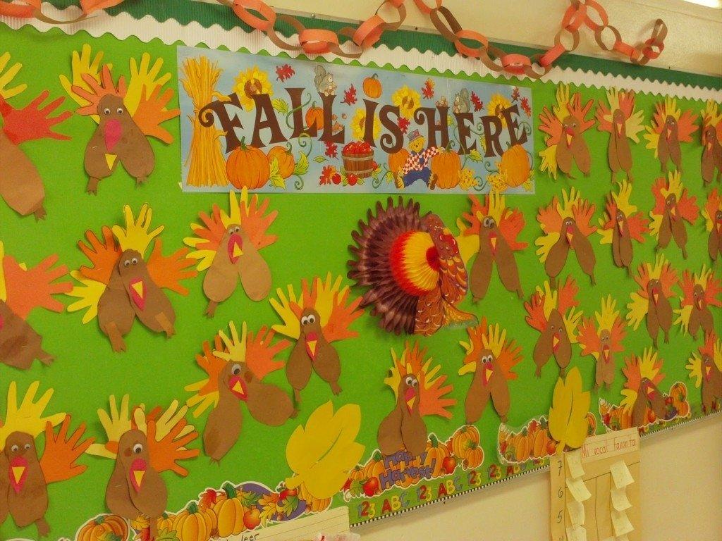 10 Nice Bulletin Board Ideas For Thanksgiving thanksgiving bulletin board preschool harper noel homes 1