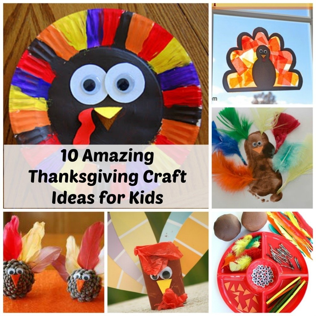 thanksgiving craft ideas for kids - 10 amazing ideas! - how wee learn