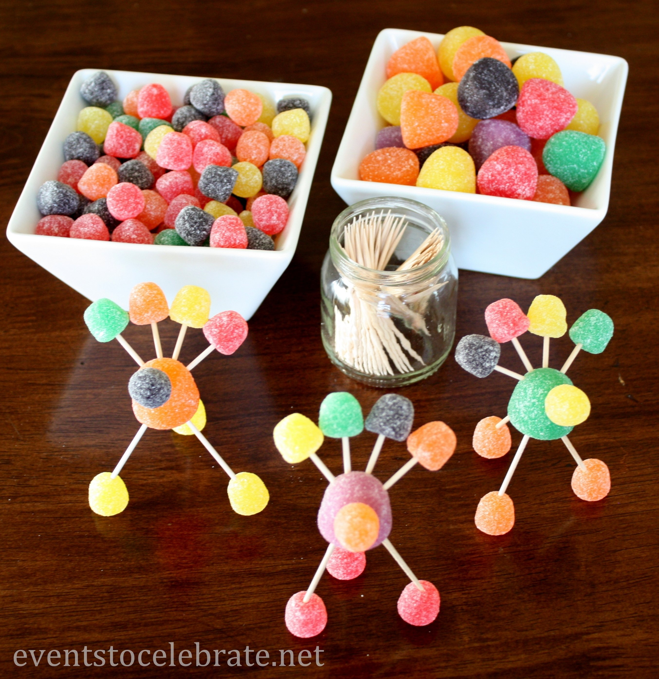 10 Nice Thanksgiving Party Ideas For Kids thanksgiving crafts for kids gumdrop turkeys events to celebrate 2020