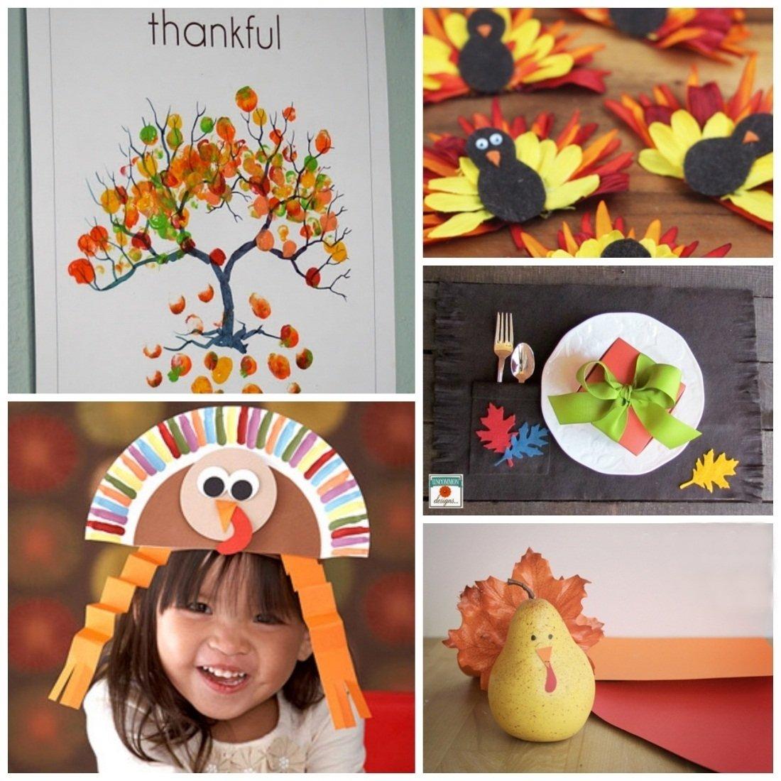 10 Best Thanksgiving Craft Ideas For Preschoolers thanksgiving crafts ideas phpearth 2020