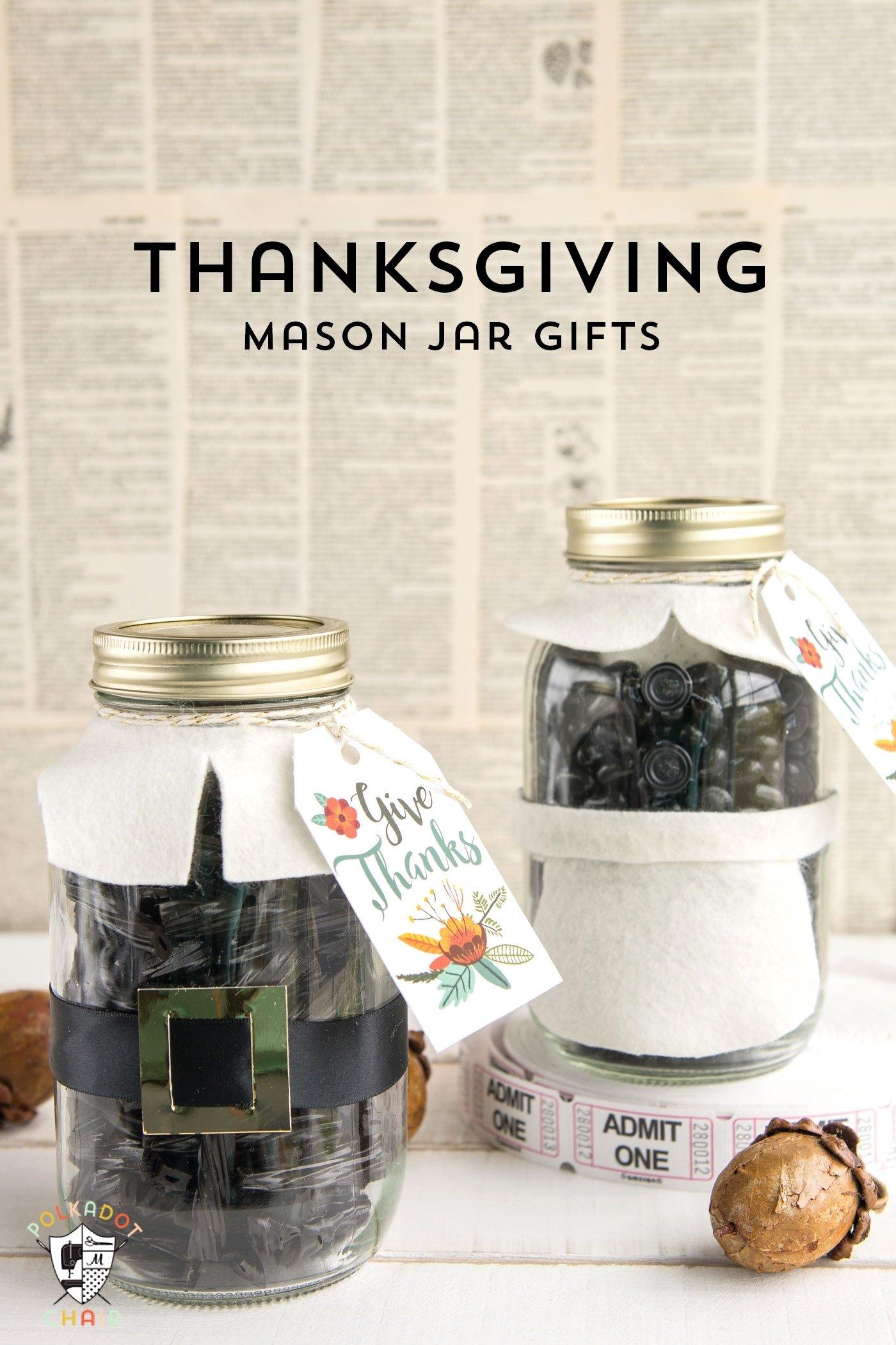 10 Gorgeous Thanksgiving Gift Ideas For Teachers thanksgiving mason jar gift idea the polka dot chair 2020