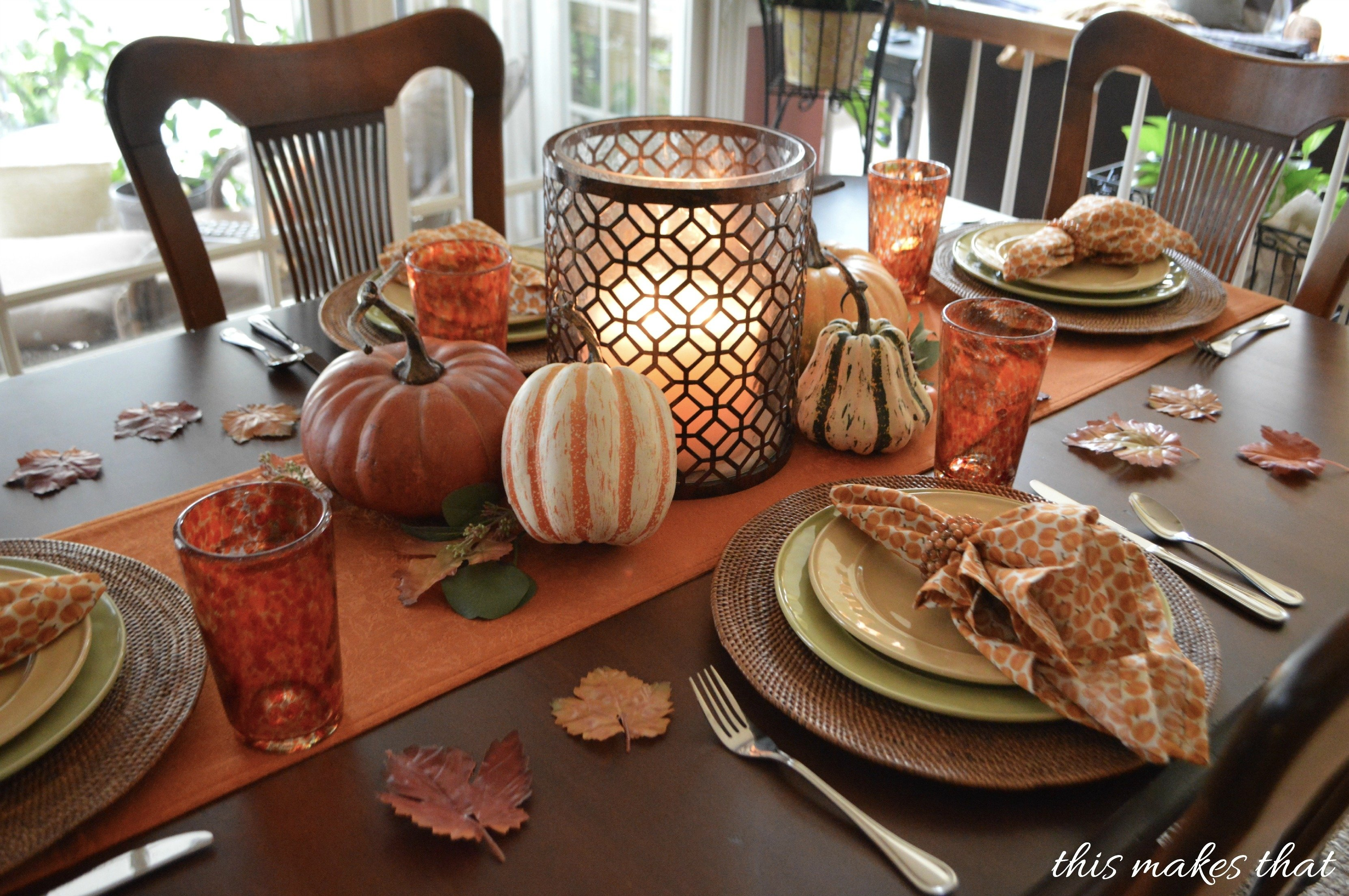 10 Attractive Table Setting Ideas For Thanksgiving thanksgiving table setting ideas this makes that 1 2021
