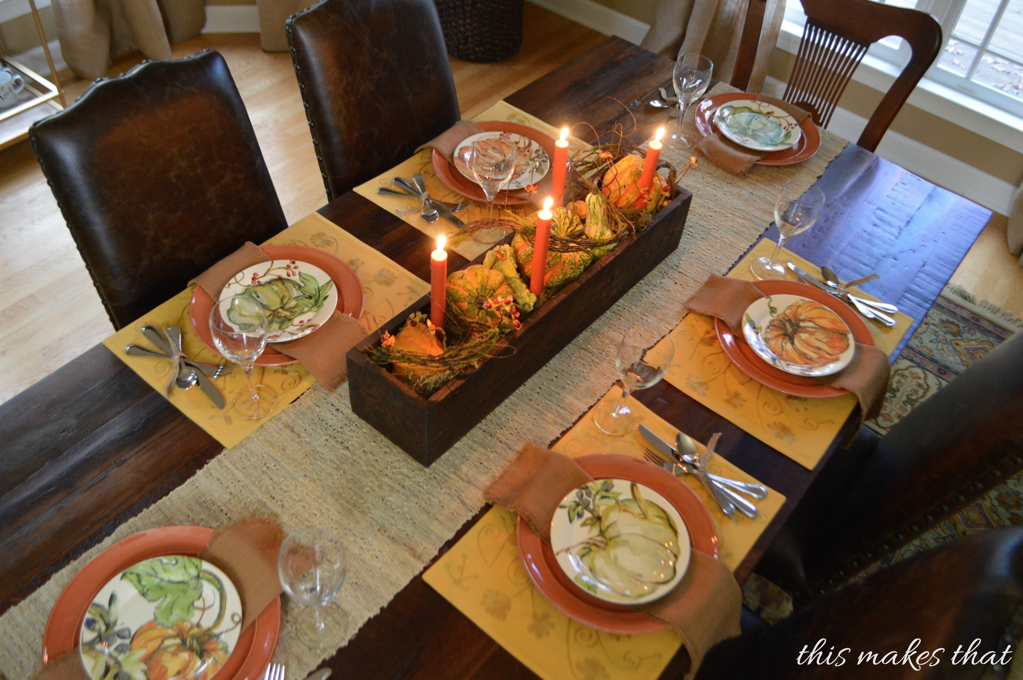 10 Wonderful Thanksgiving Table Setting Ideas Easy thanksgiving table setting ideas this makes that passover seder cool 1