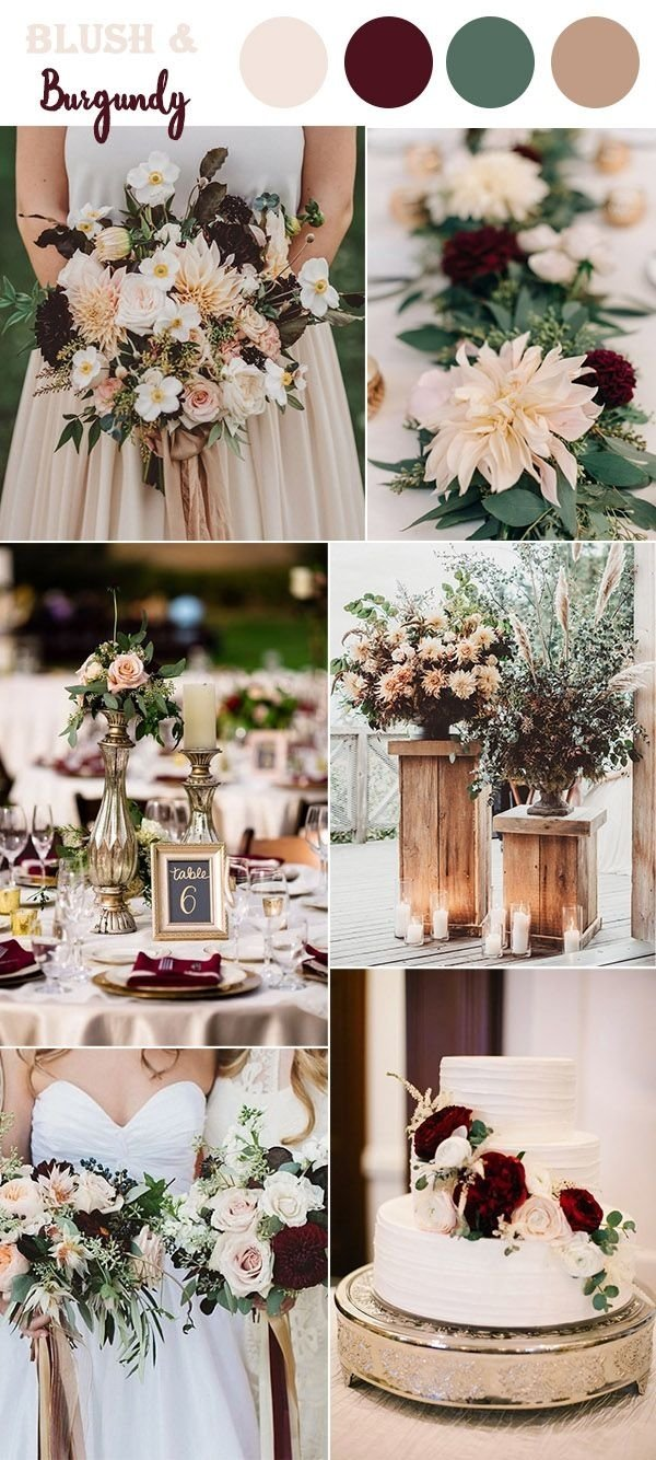 10 Amazing Wedding Color Ideas For Fall the 10 perfect fall wedding color combos to steal in 2018 classic 2020