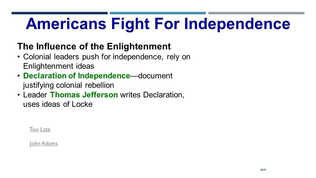 10 Amazing Enlightenment Ideas In The Declaration Of Independence the american revolution do now with your partner discuss the 2021