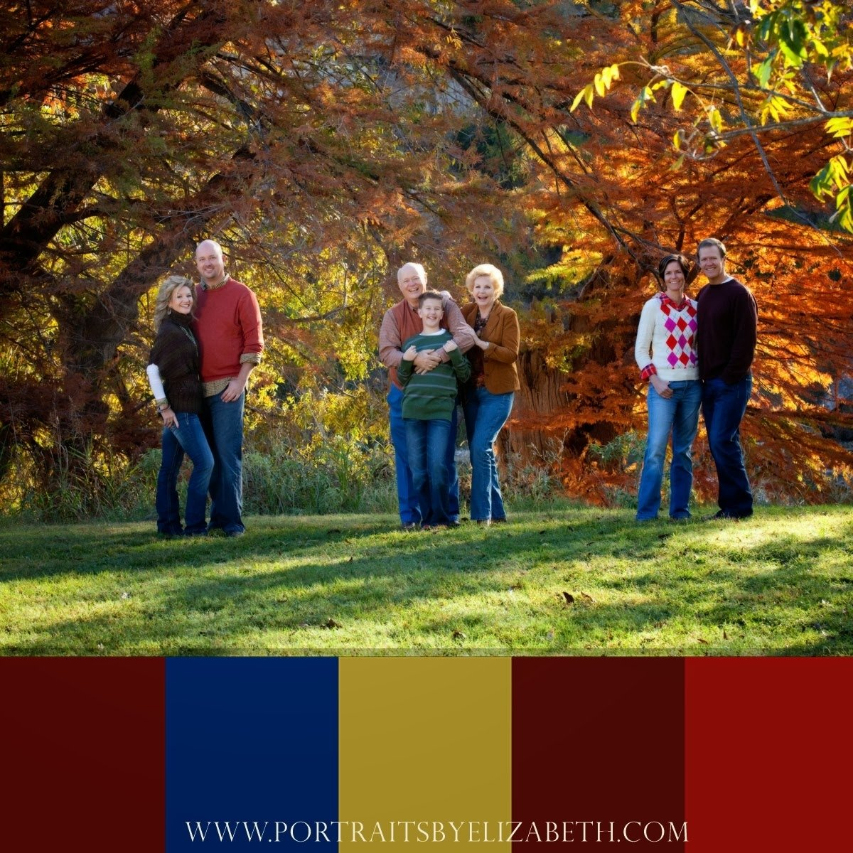 10 Lovely Fall Family Picture Ideas Clothing the artistry of elizabeth homan fall family portrait clothing ideas 2020