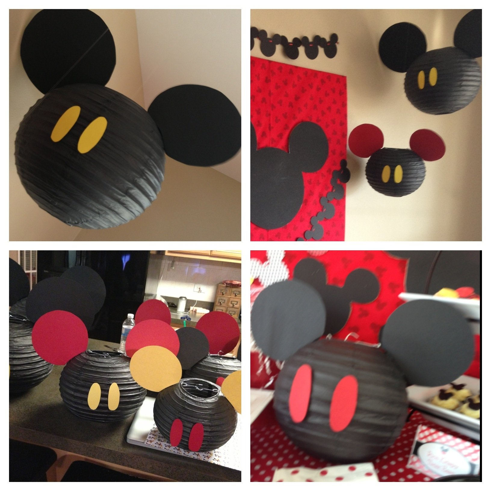 10 Lovely Mickey Mouse Party Ideas Pinterest the back drops to each table were so simple and easy to create as