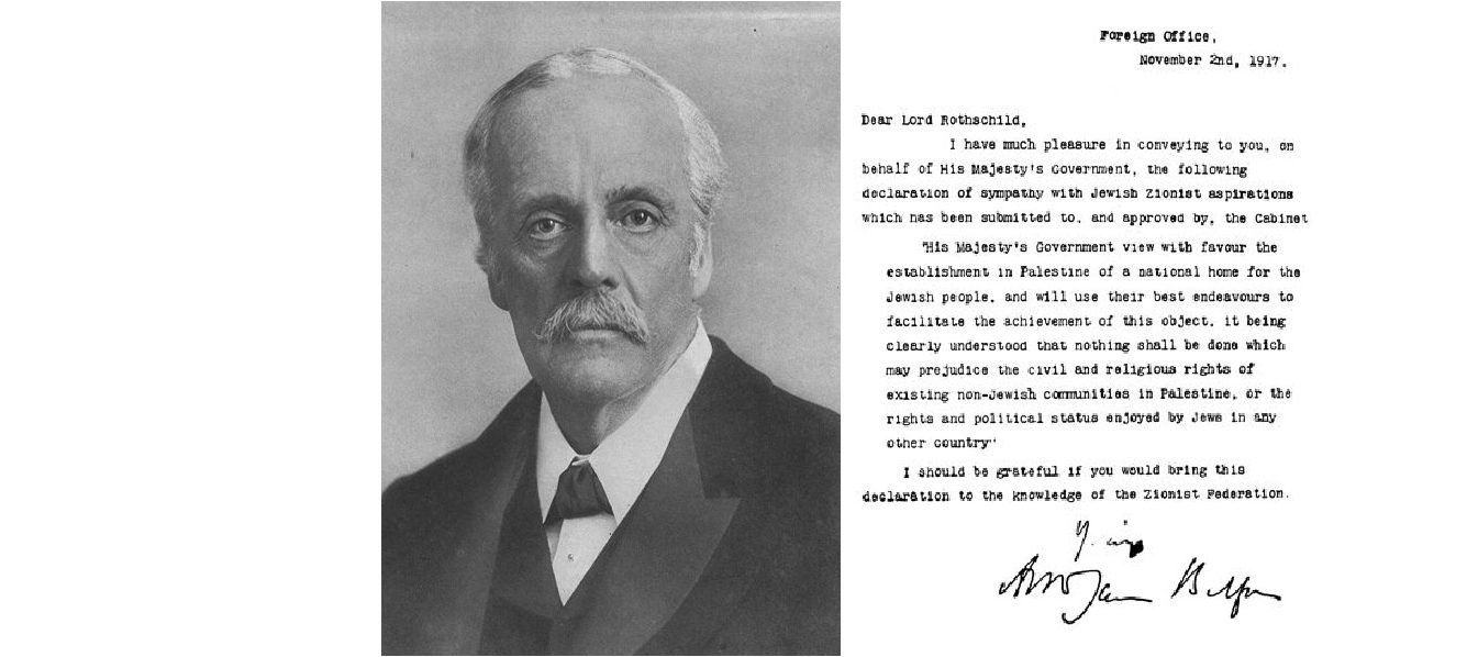 10 Fantastic The Balfour Declaration Of 1917 Supported The Idea Of A the balfour declaration a tale of enchantment and disenchantment 61j 2020