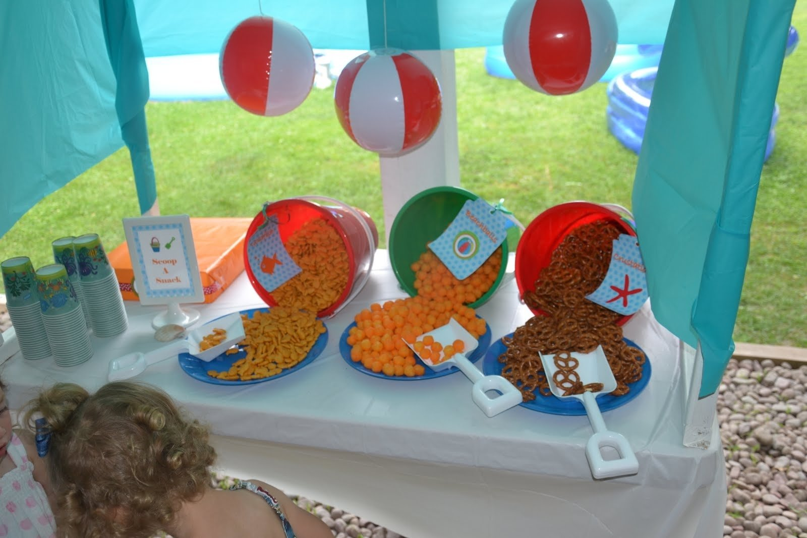the beach birthday party ideas | beach party snacks, snacks and beach