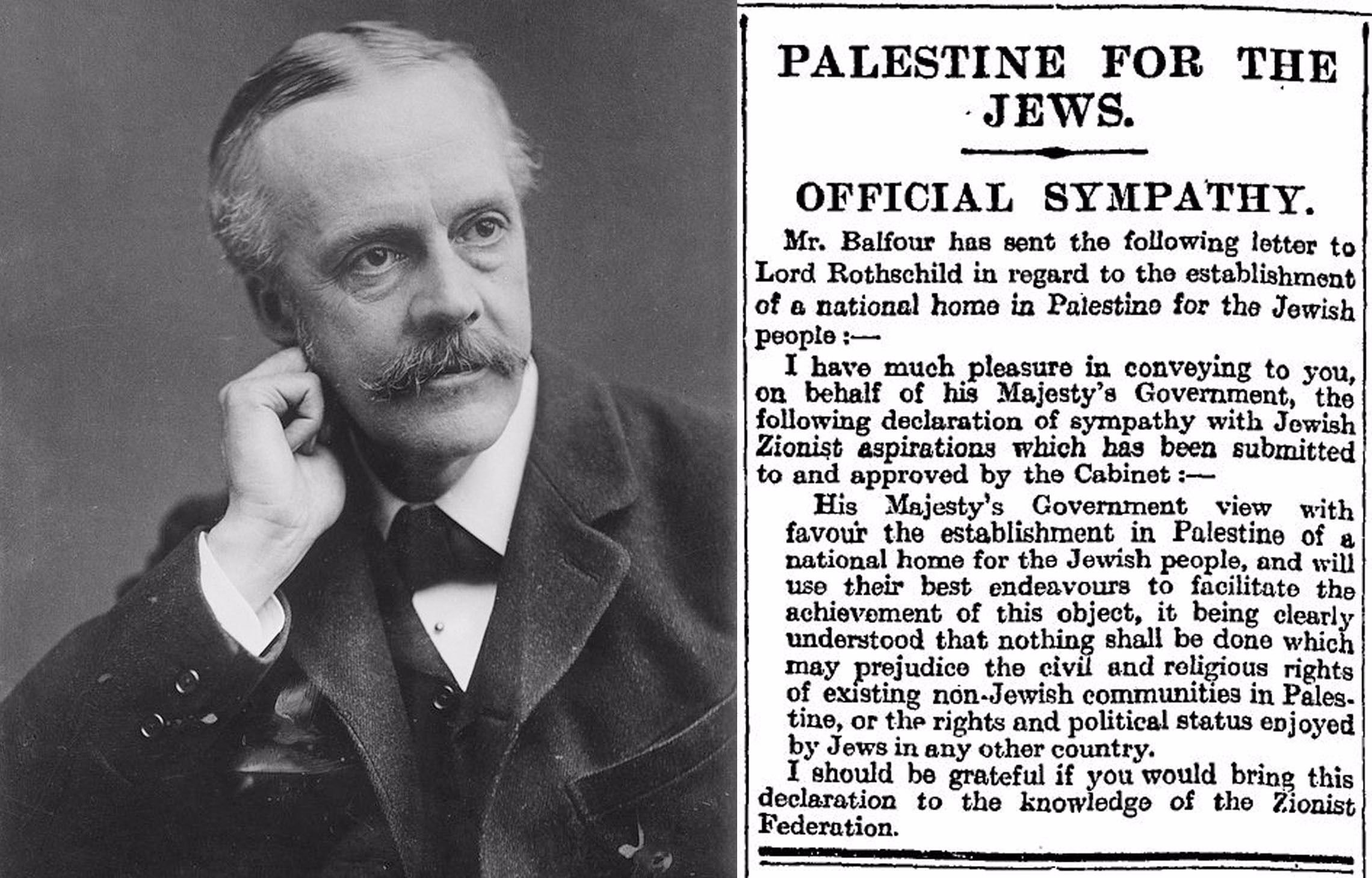 10 Fantastic The Balfour Declaration Of 1917 Supported The Idea Of A the belfour declaration pakistan today 2020