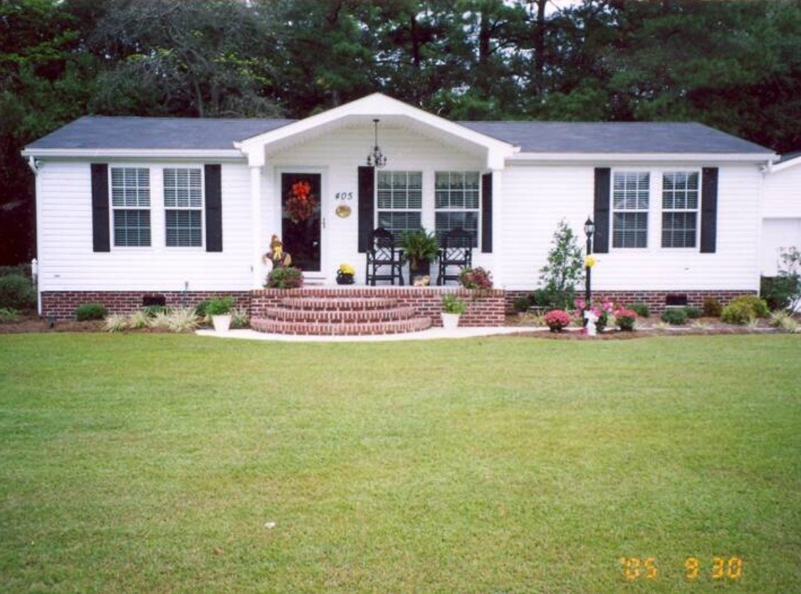 10 Most Recommended Landscaping Ideas For Mobile Homes the best 100 agreeable skirting ideas for mobile homes image