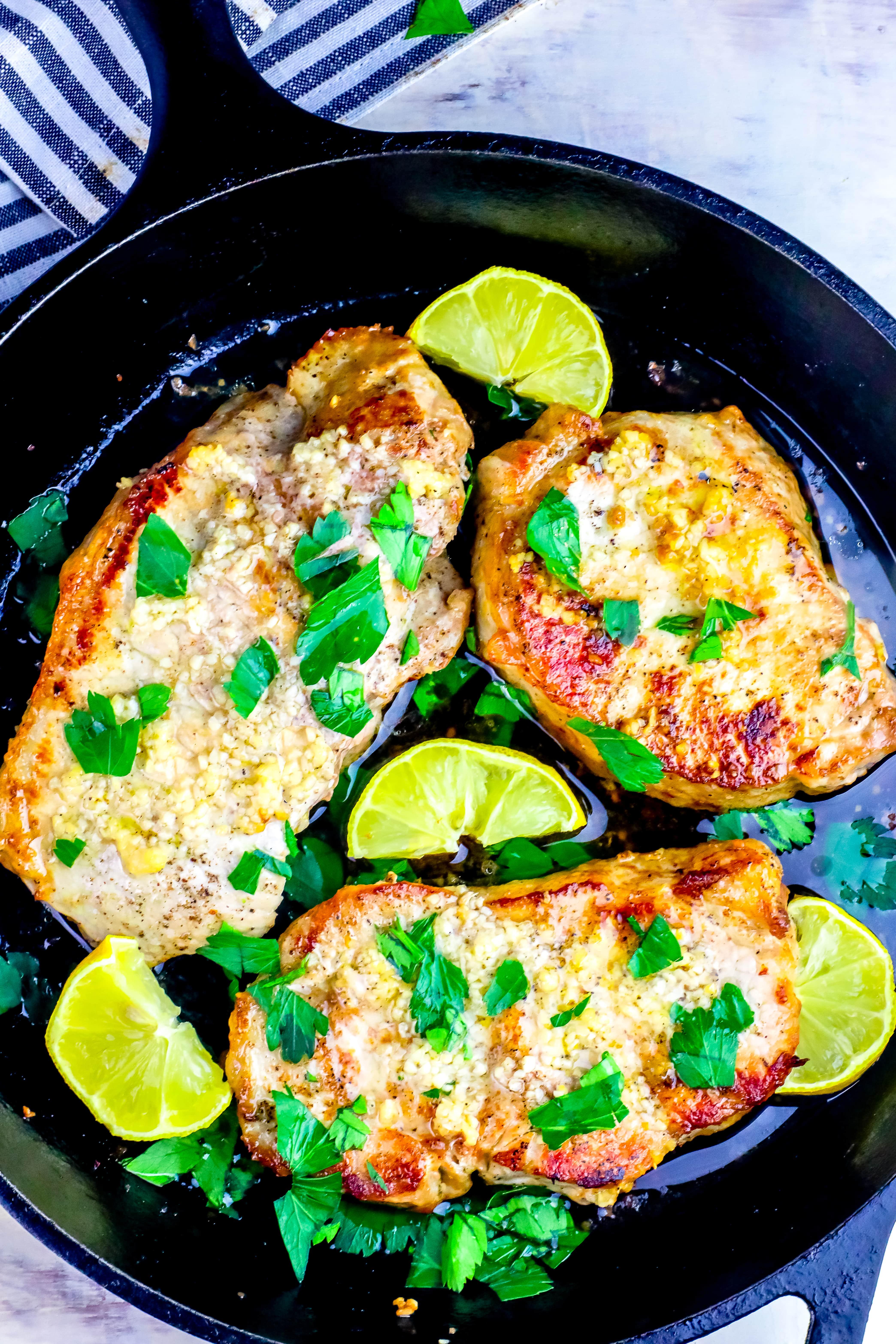 10 Amazing Ideas For Dinner With Pork Chops the best baked garlic pork chops recipe oven baked pork chops 2020