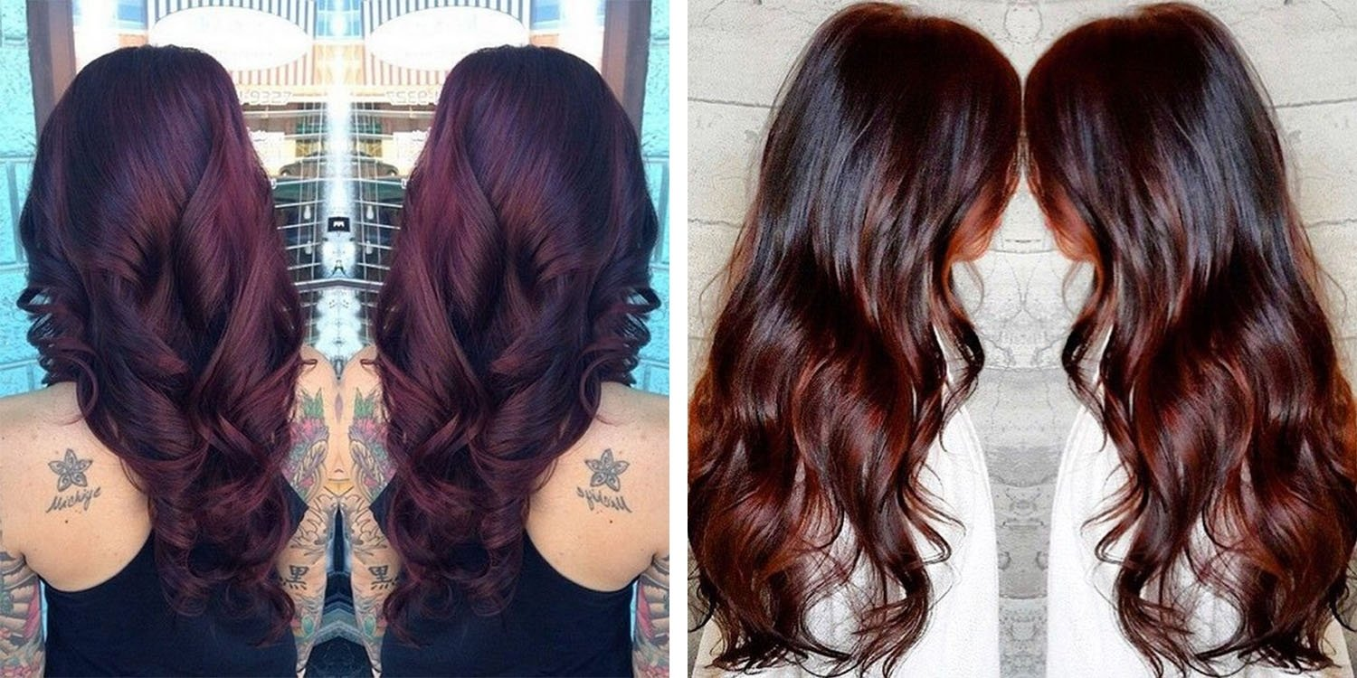 10 Stunning Hair Color Ideas For Brunettes the best brunette hair color shades matrix